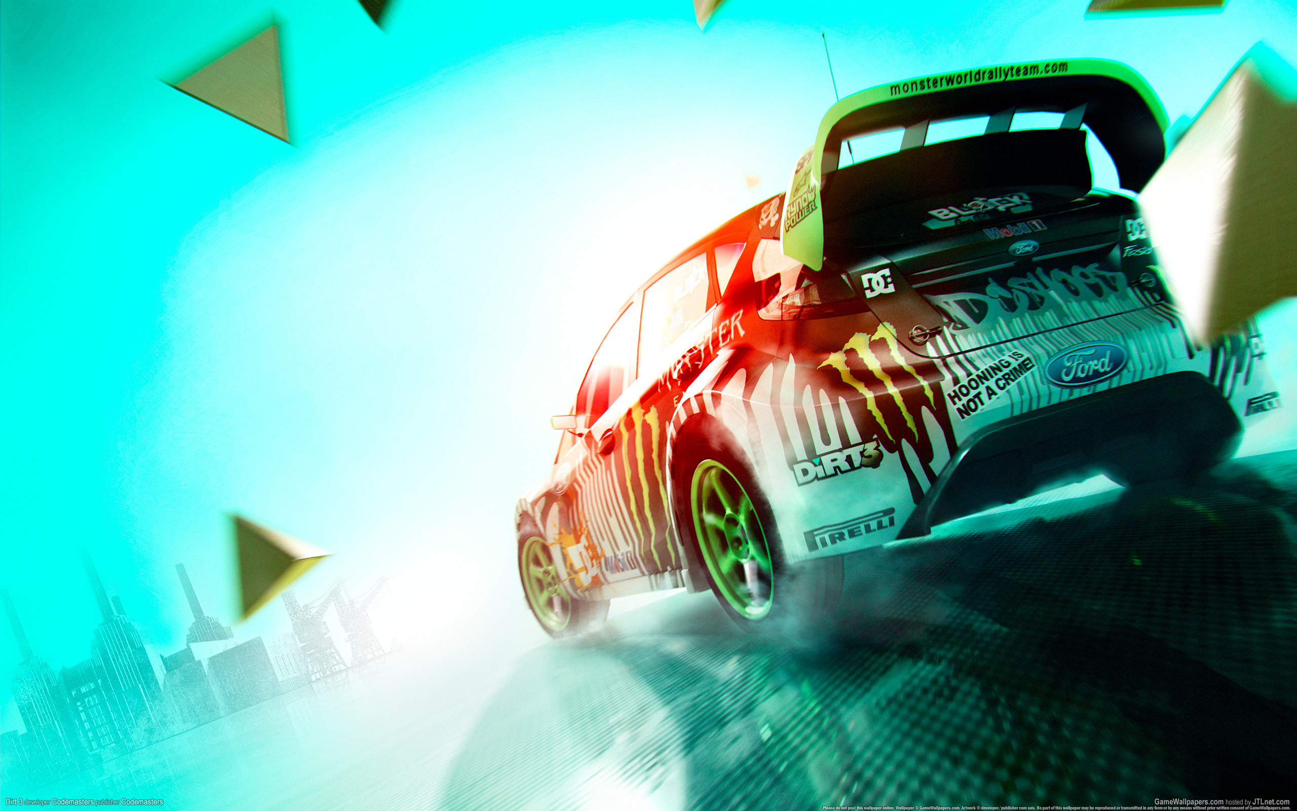 Res: 2560x1600, Dirt 3 Rally Race Game