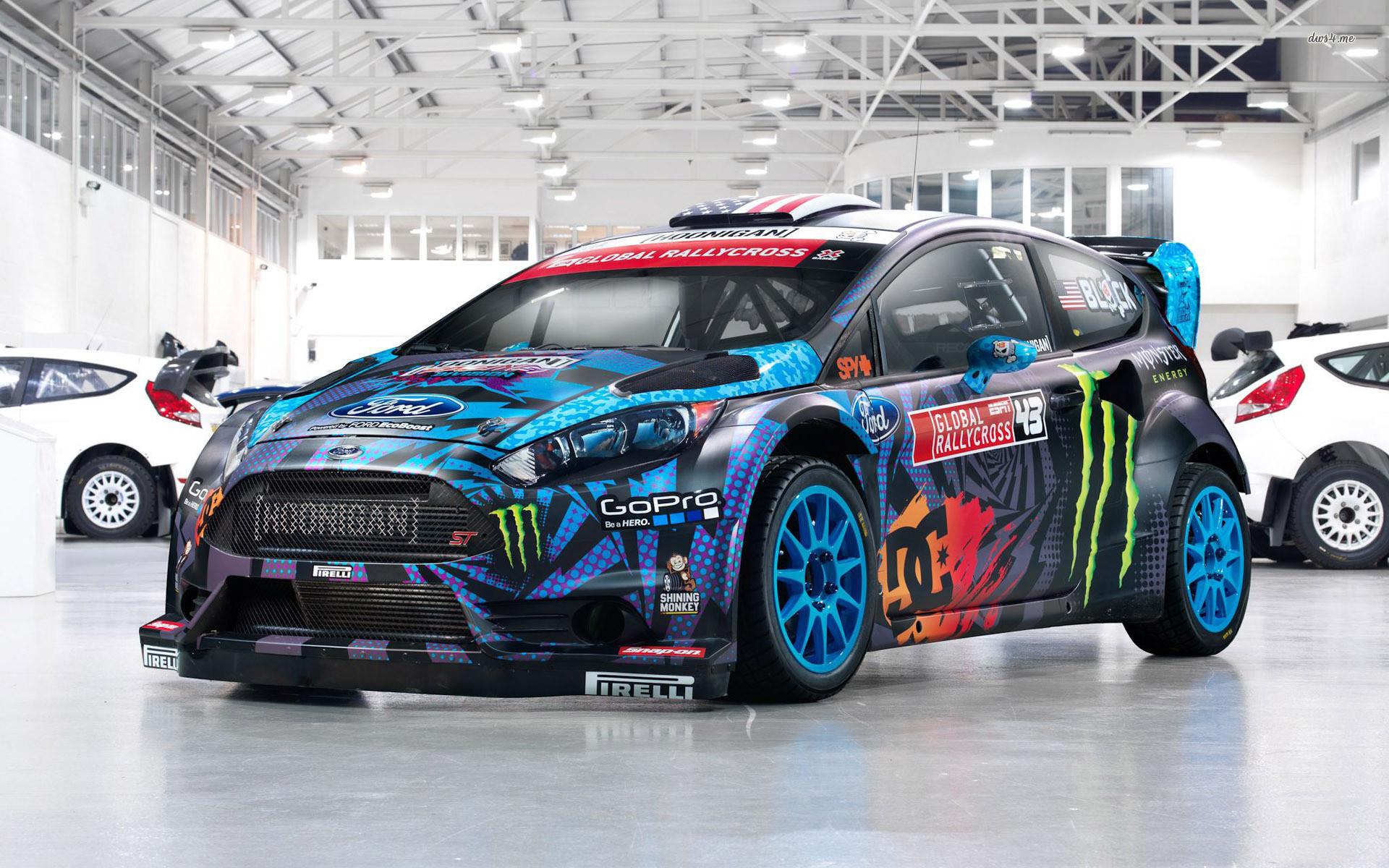 Res: 1920x1200, ... Ken Block's Ford Fiesta ST RX43 wallpaper  ...