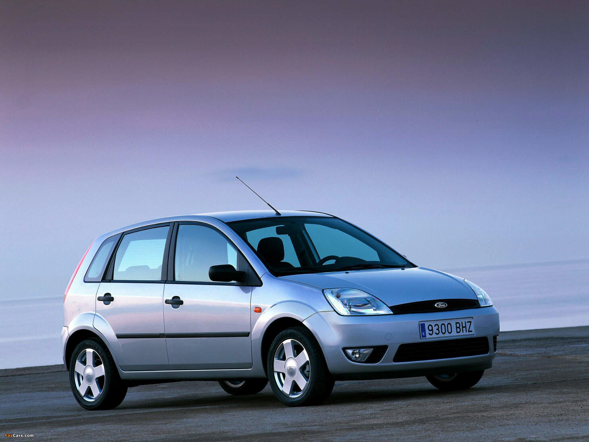 Res: 2048x1536, Ford Fiesta 5-door 2002–05 wallpapers (2048 x 1536)