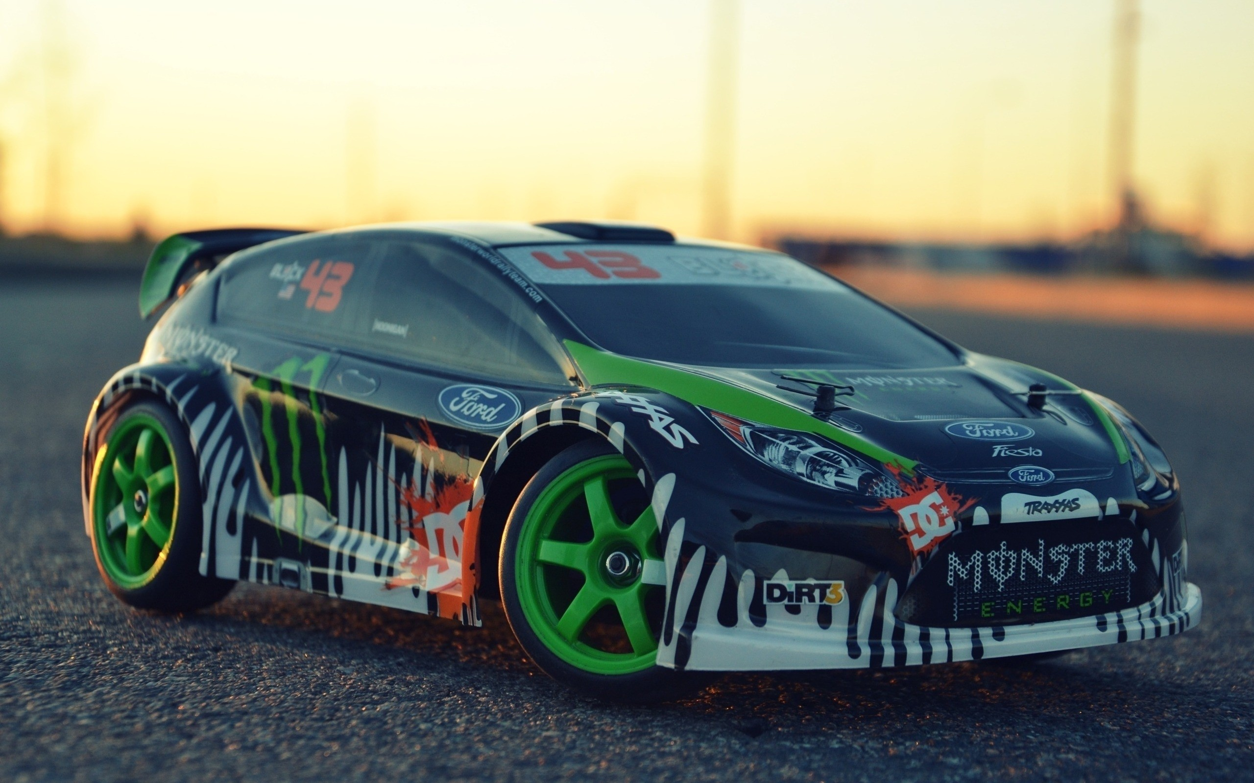 Res: 2560x1600, Ken Block Ford Fiesta Dc Shoes Toy Cars Traxxas Hd Wallpaper For Mobile  High Quality