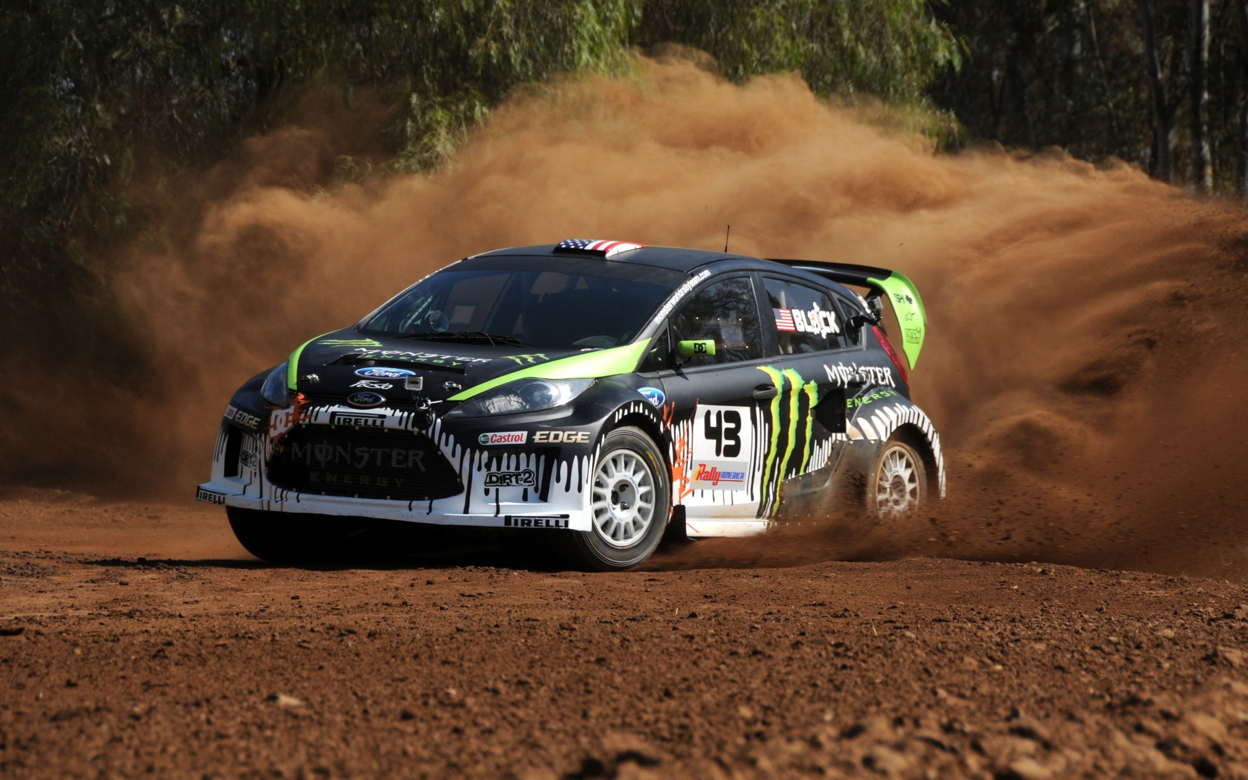Res: 2560x1600, Rally Ford Fiesta Wallpaper