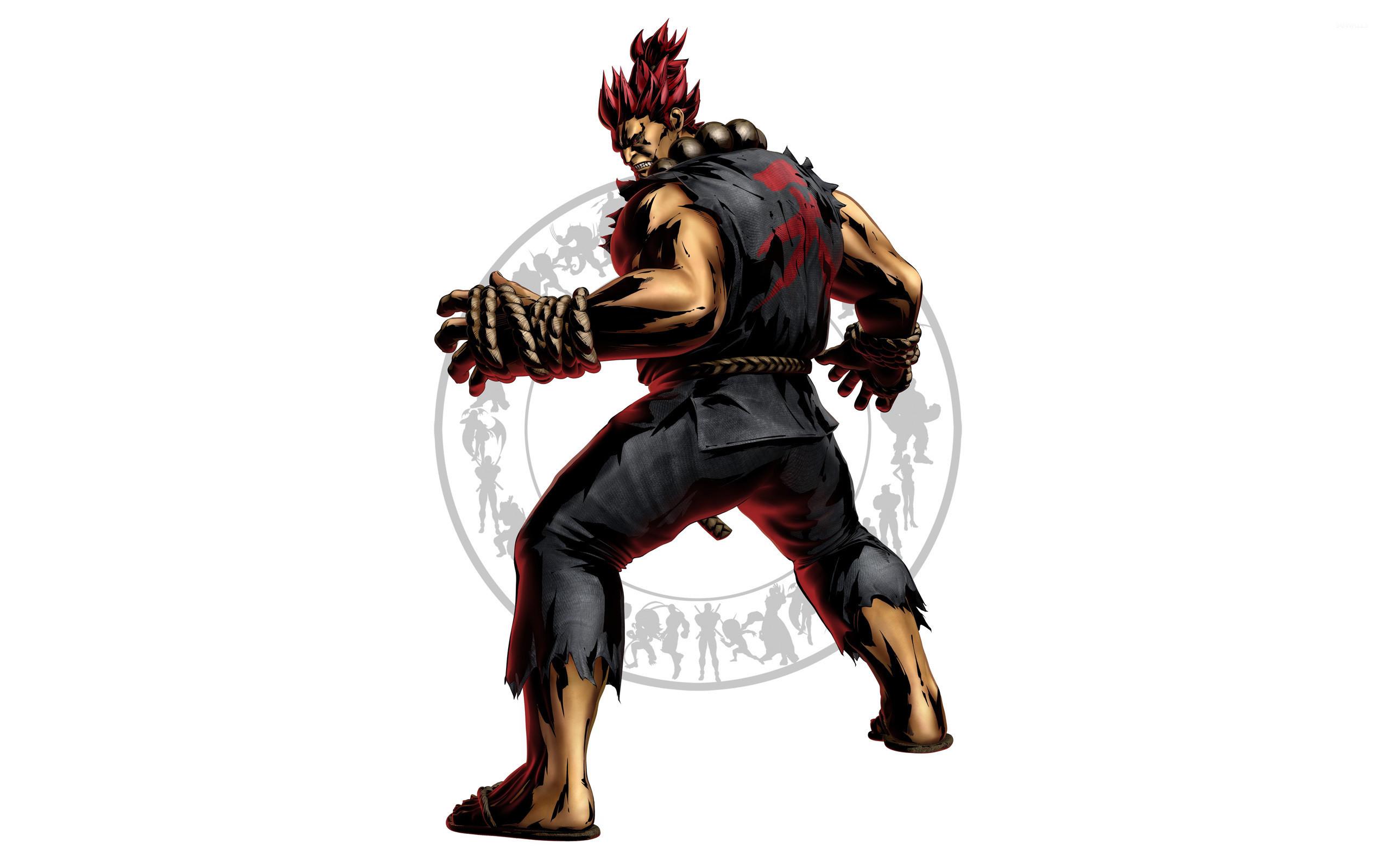 Res: 2560x1600, Capcom 3 - Akuma wallpaper