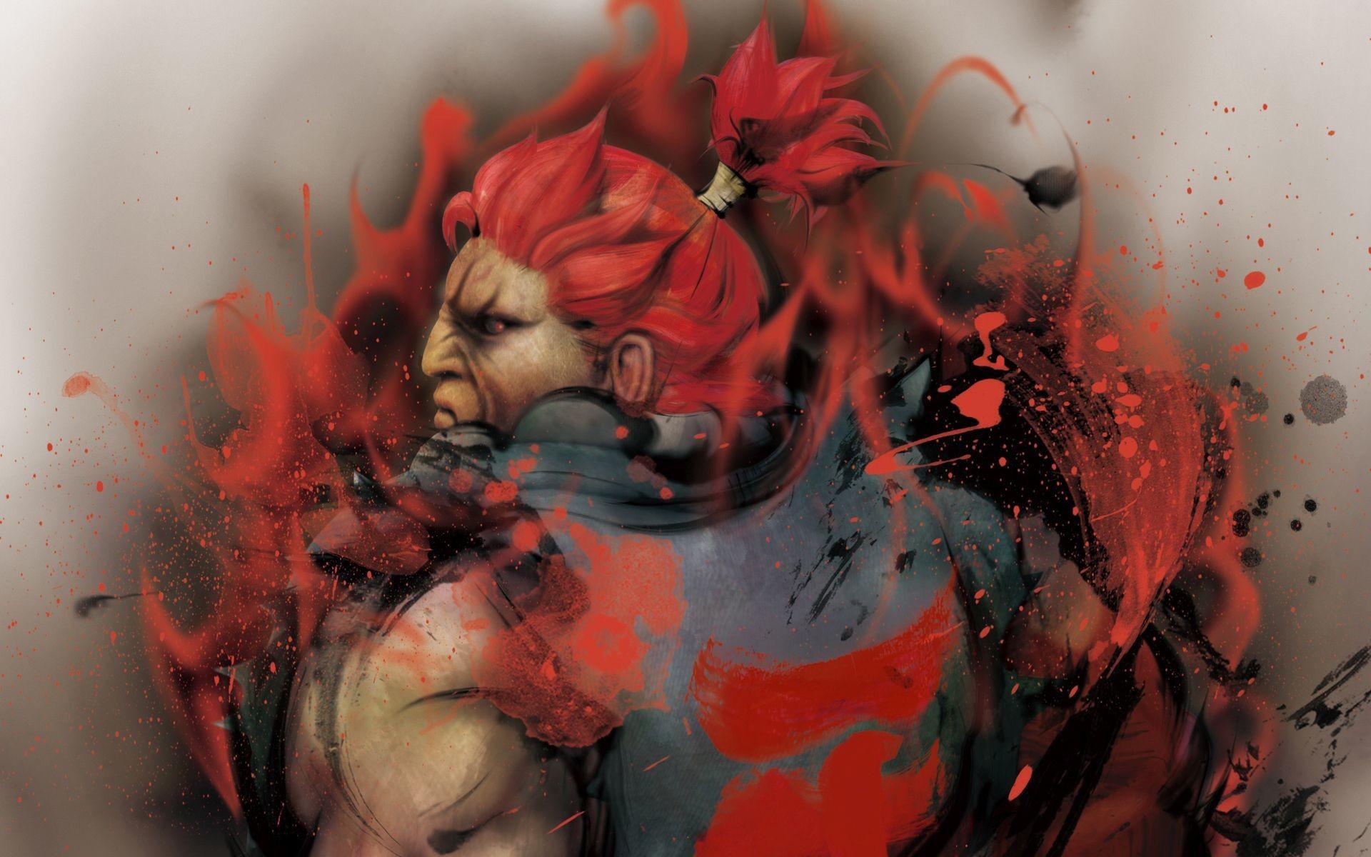 Res: 1920x1200, ... Akuma - Street Fighter