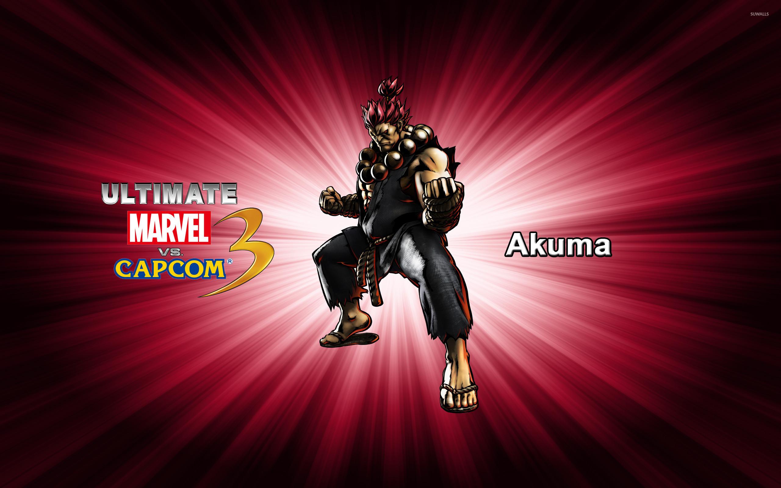 Res: 2560x1600, Akuma - Ultimate Marvel vs. Capcom 3 wallpaper