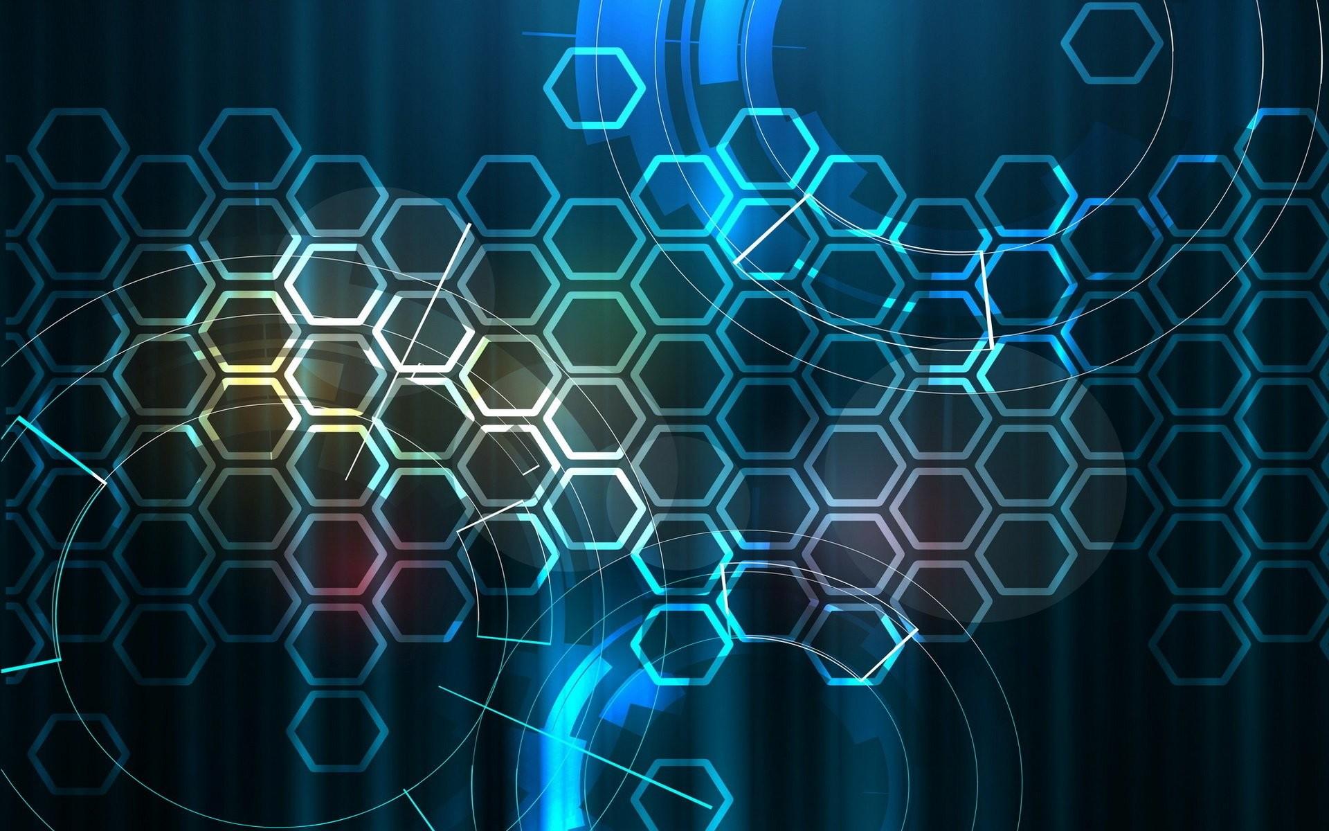 Res: 1920x1200, Abstrakt - Hexagon Abstrakt Digitale Kunst Muster Wallpaper