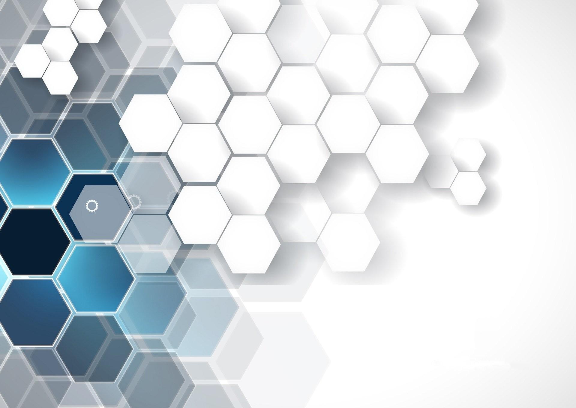 Res: 1920x1360, Abstract - Hexagon Abstract Digital Art Pattern Wallpaper