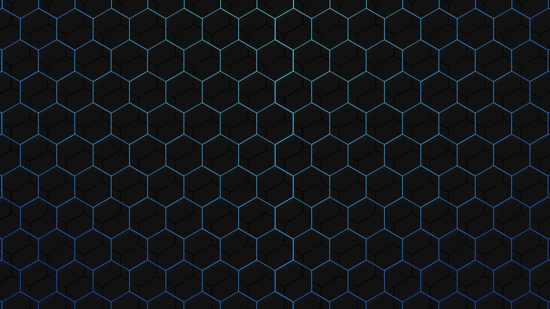 Res: 1920x1080, popular Black Hexagon Wallpaper