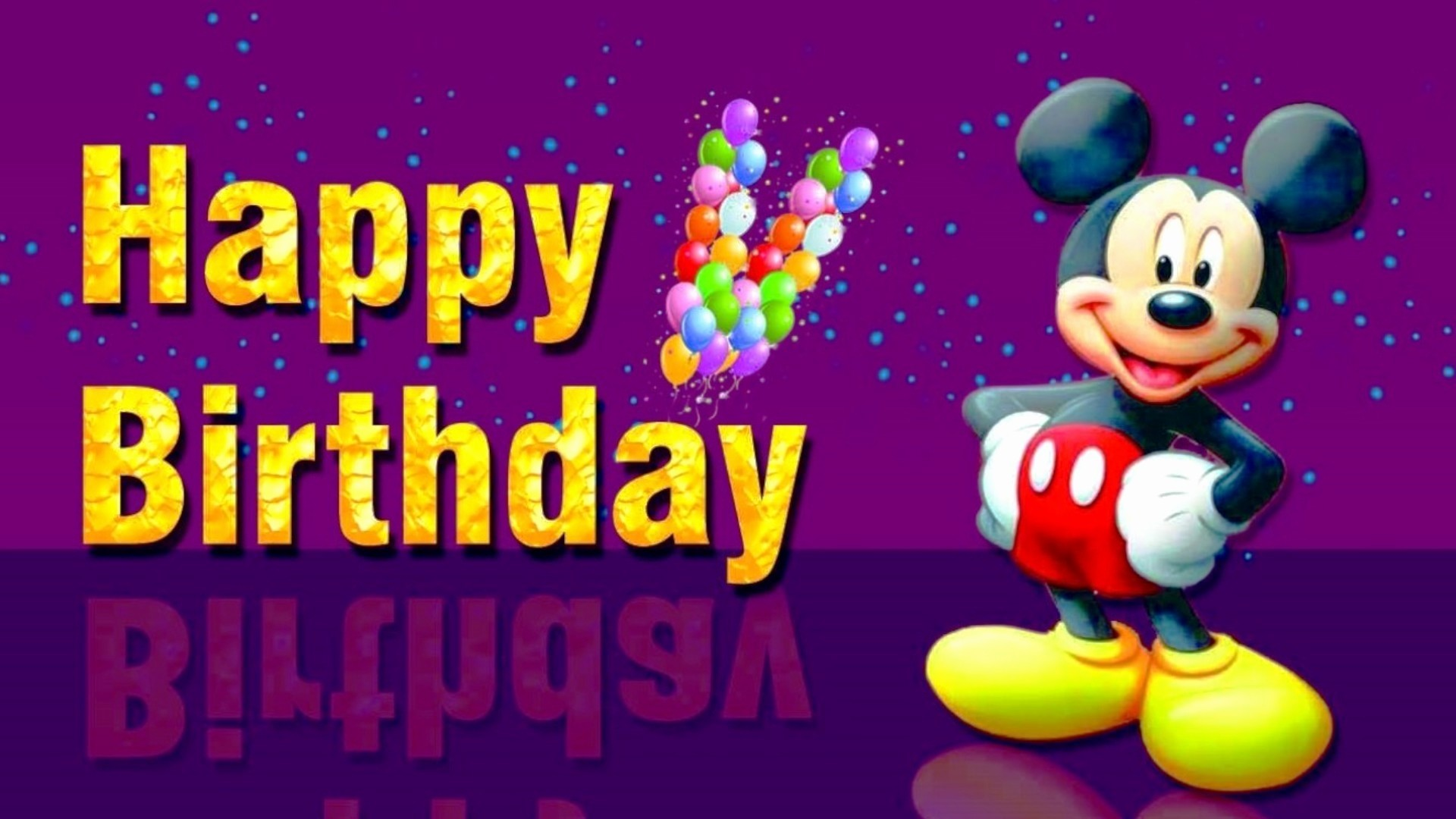 Res: 1920x1080, Mickey Mouse Birthday Wishes Luxury Mickey Mouse Happy Birthday Wishes Best  Amazon American Greetings