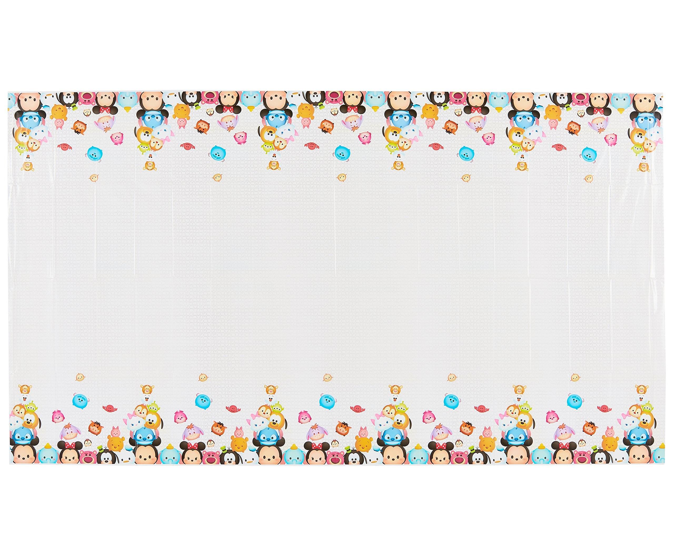 Res: 2560x2048, American Greetings Tsum Tsum Plastic Table Cover, ...