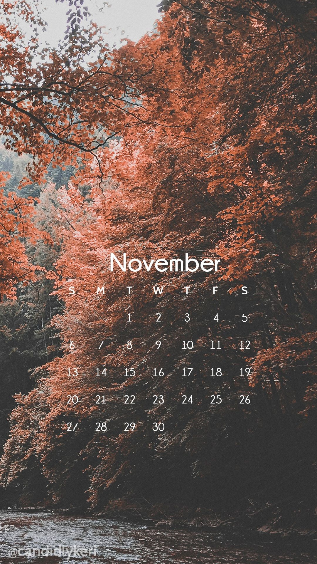 Res: 1080x1920, Nature scene beautiful red trees, pink tree photography fall sceneNovember  calendar 2016 wallpaper you can