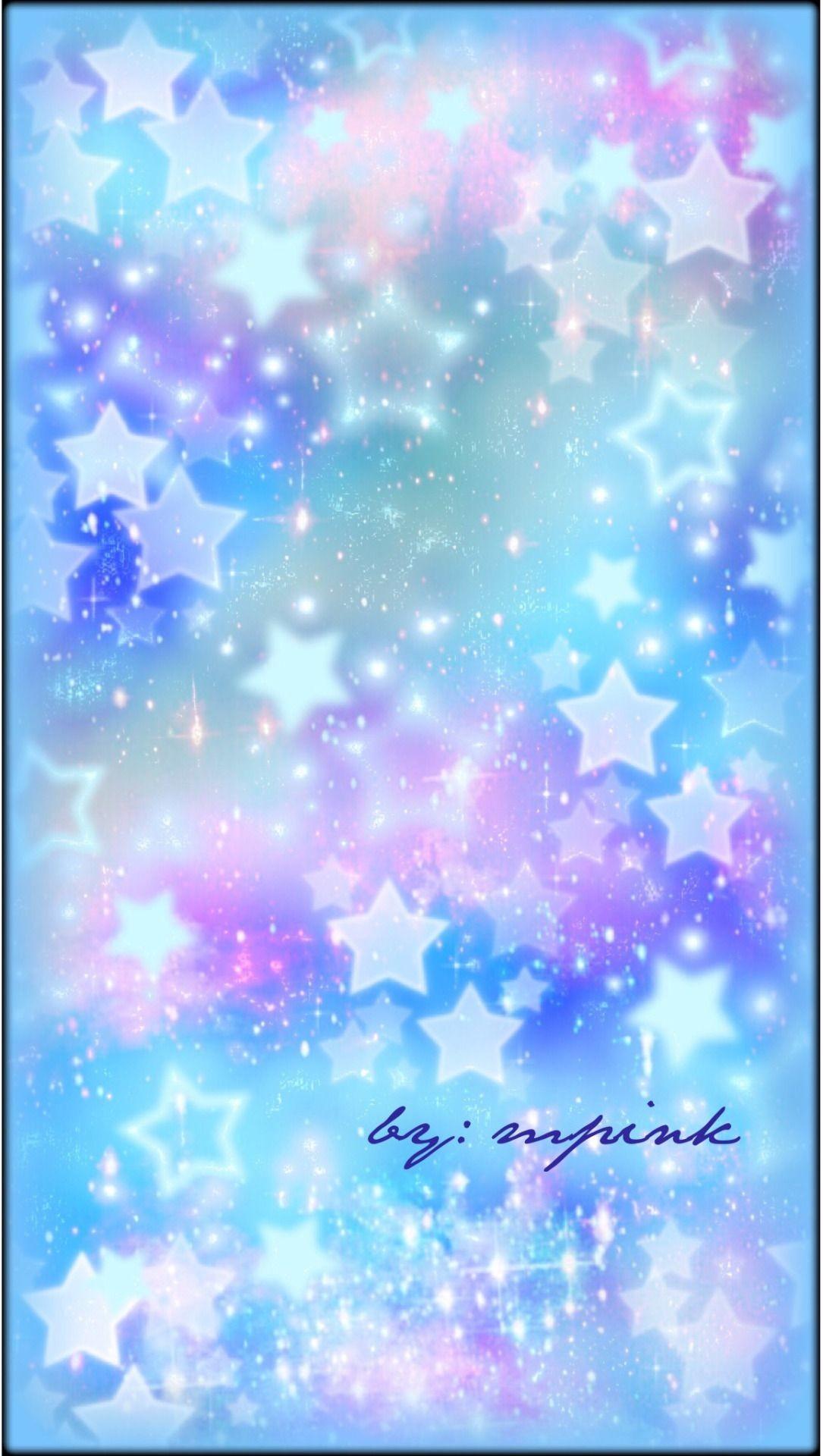 Res: 1085x1920, Beautiful Galaxy Blue Stars Wallpaper