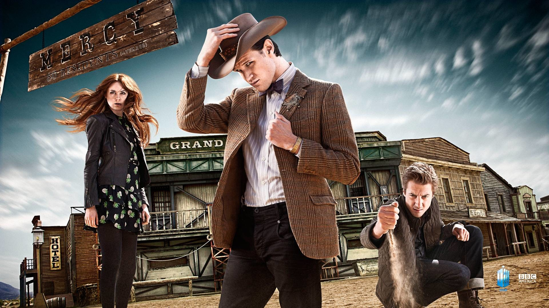 Res: 1920x1080, Welcome to the Wild West | Season 7 Wallpapers | Extras | Doctor .