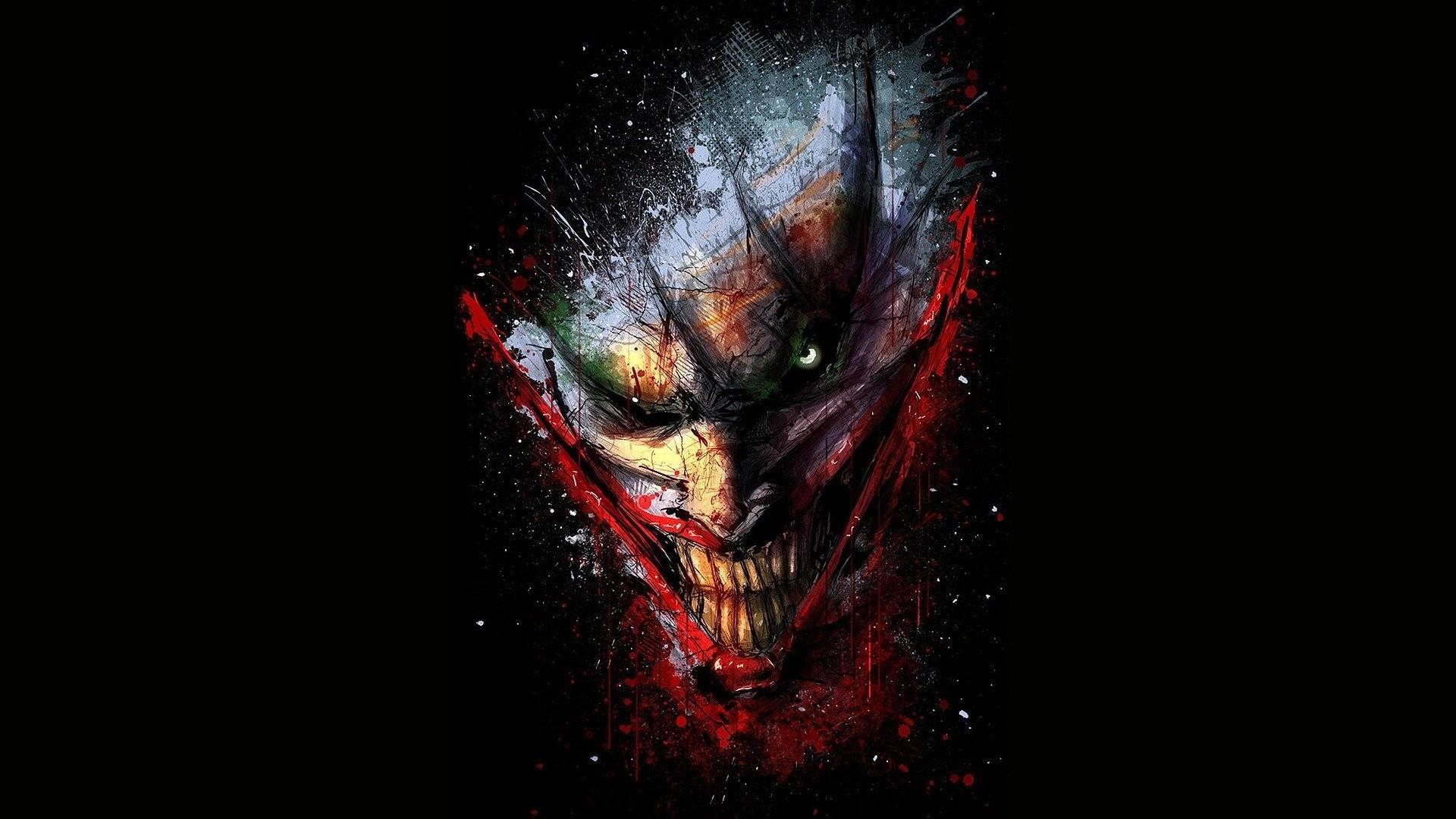 Evil Joker Wallpapers Hd Wallpaper Collections