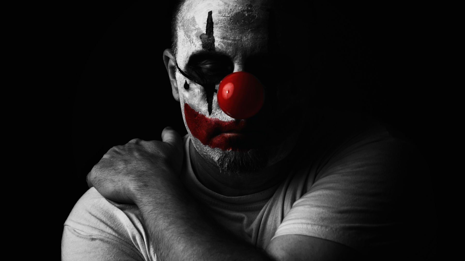 Res: 1920x1080, Pics For e Evil Clown Wallpapers Hd t you think were F