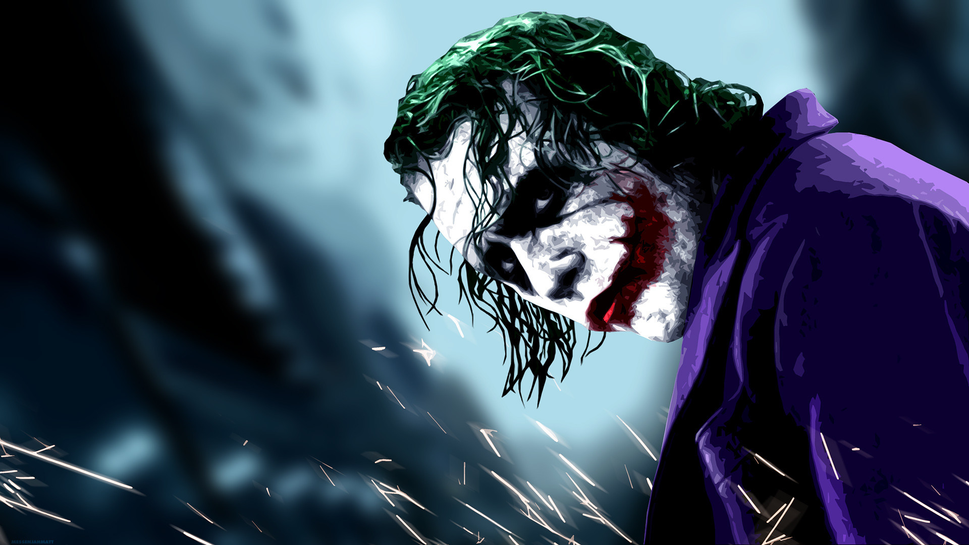 Res: 1920x1080, scary joker wallpaper #450887
