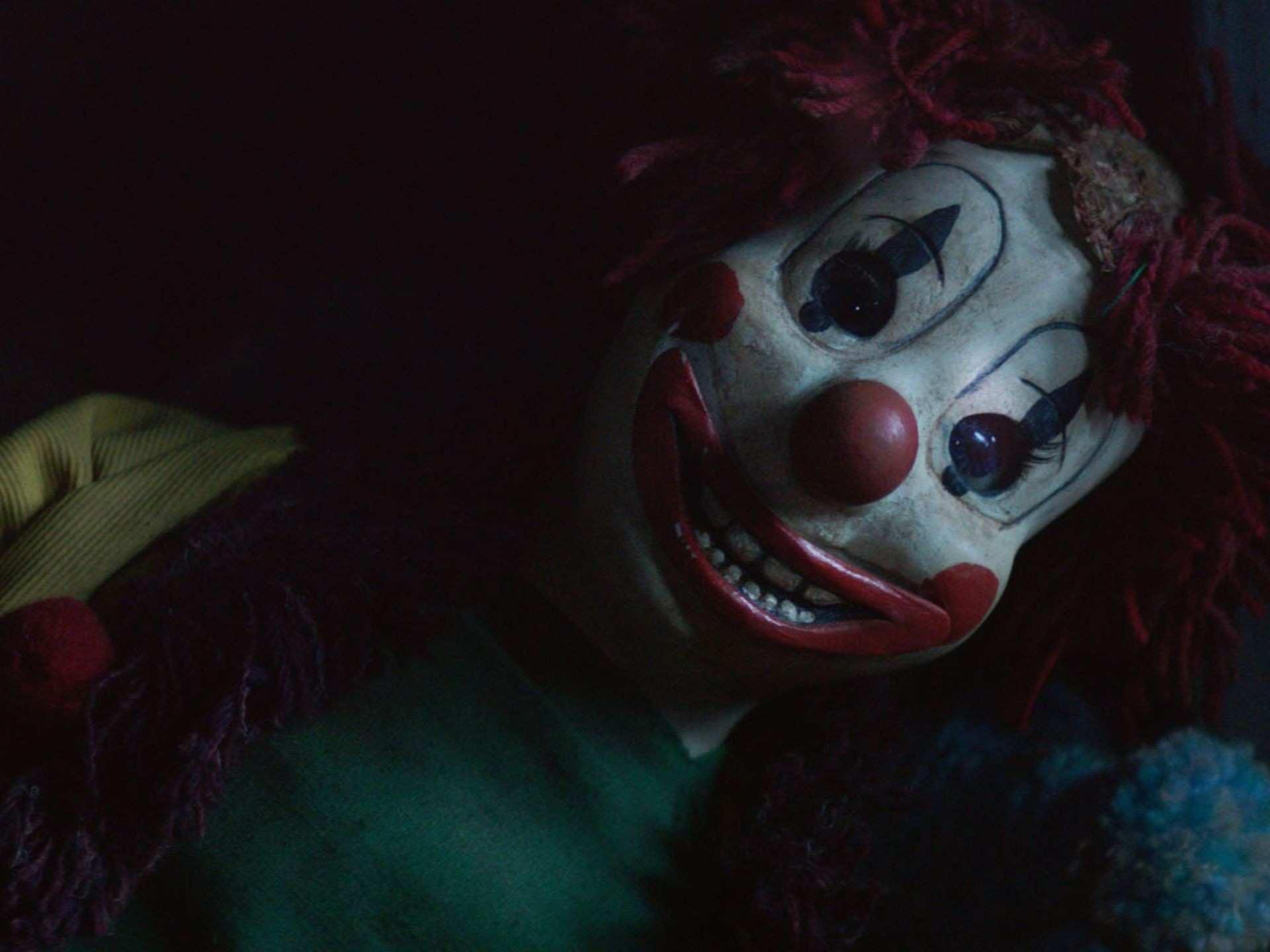 Res: 1920x1440, POLTERGEIST horror dark thriller scary creepy evil clown wallpaper .