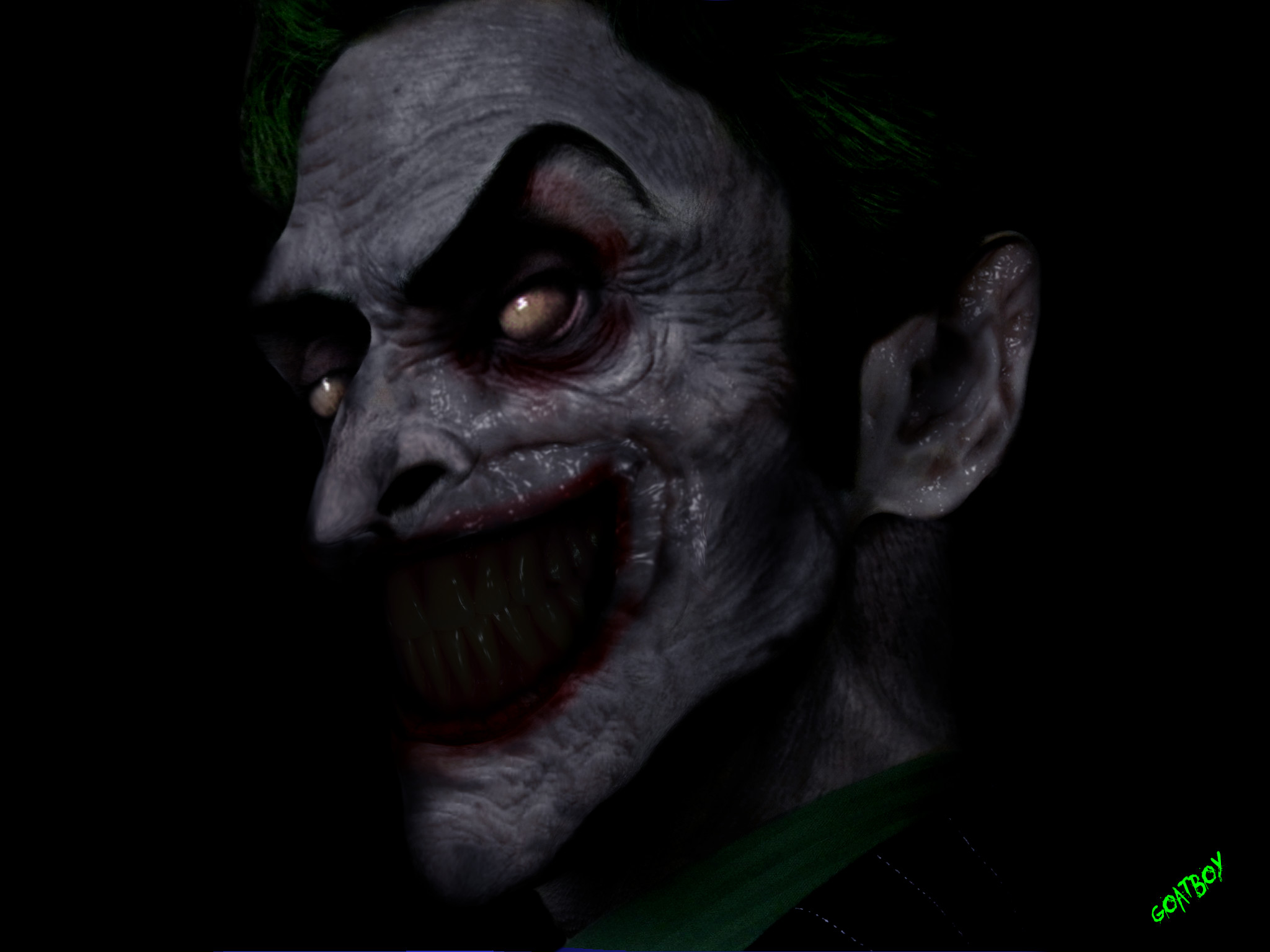 Res: 2048x1536, The Joker Evil