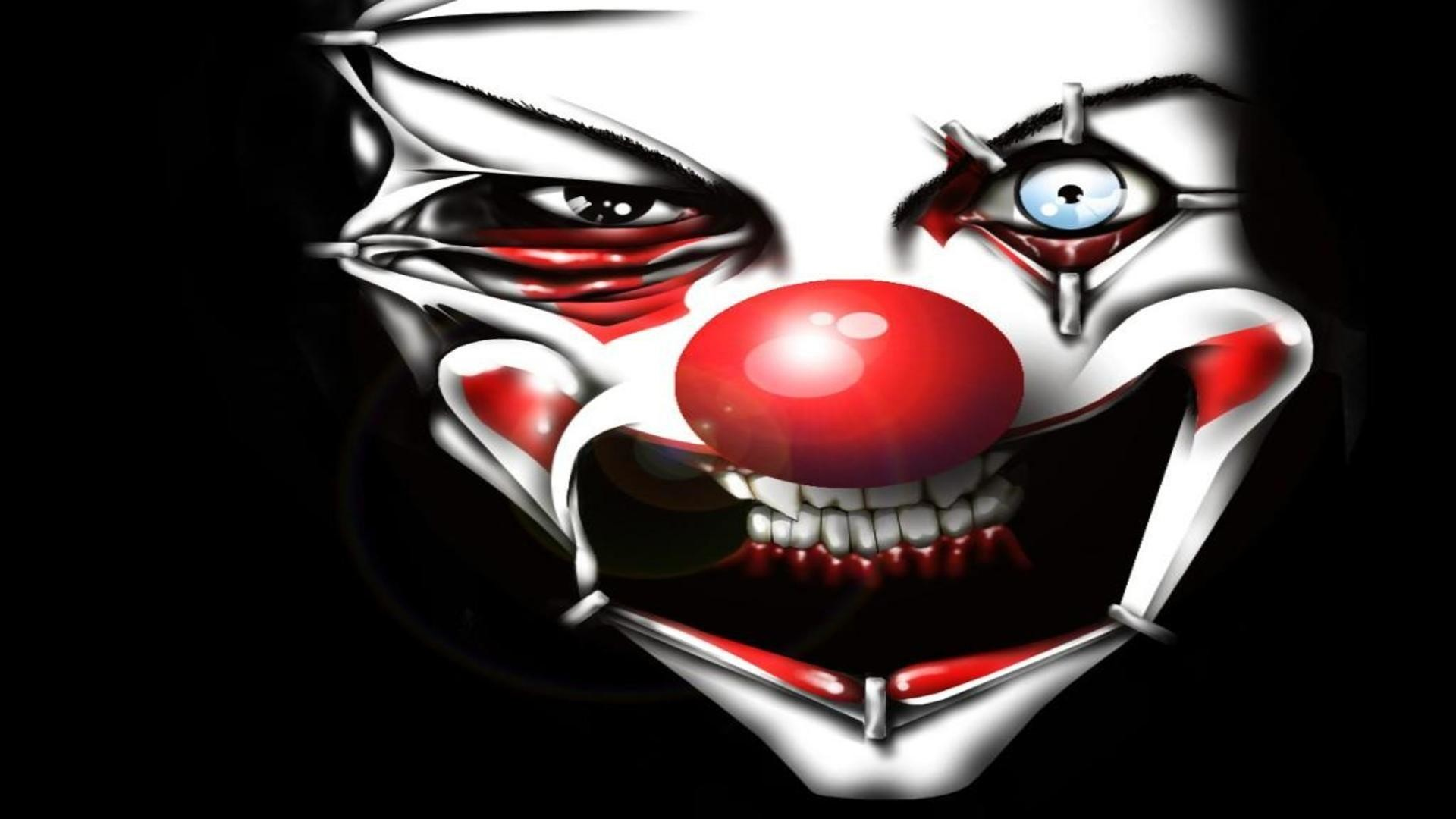Res: 1920x1080, Evil Clown Wallpapers Desktop