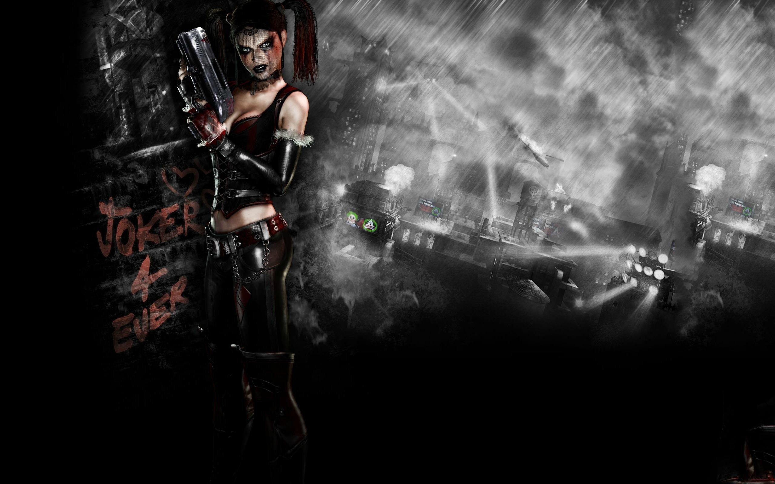 Res: 2560x1600, Harley Quinn Joker 4 Ever Wallpaper