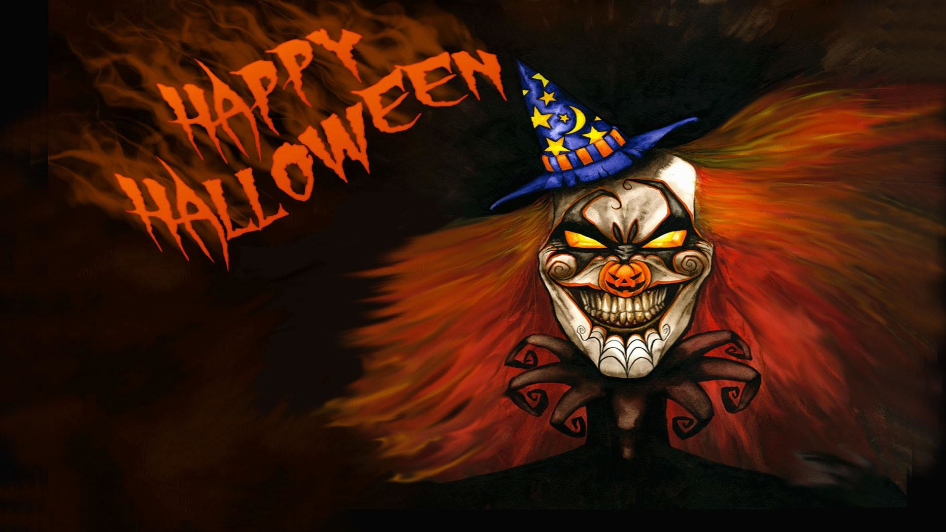 Res: 1920x1080, 10. scary-clown-wallpaper-HD10-600x338