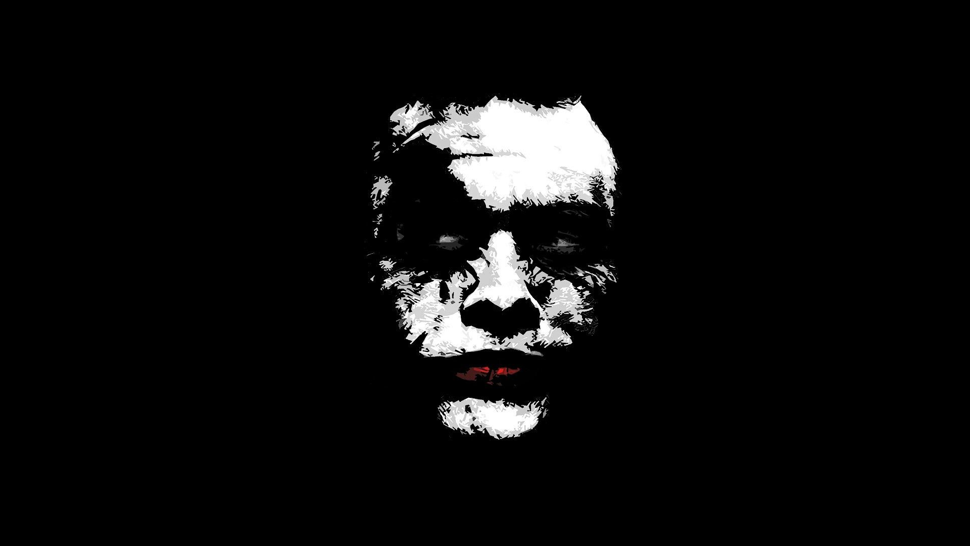 Res: 1920x1080, wallpapers the joker black and white