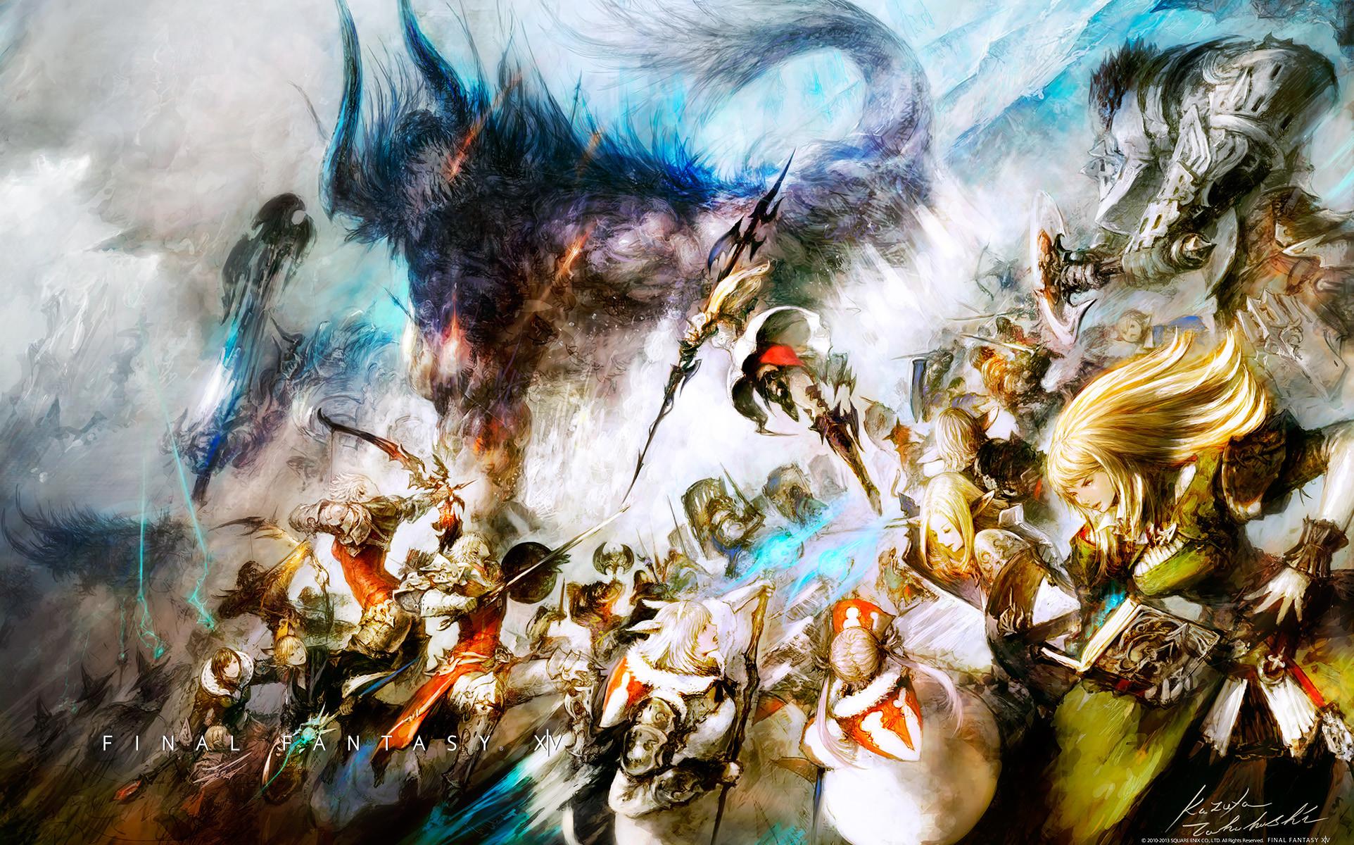 Res: 1924x1200, Final Fantasy XV Wallpaper