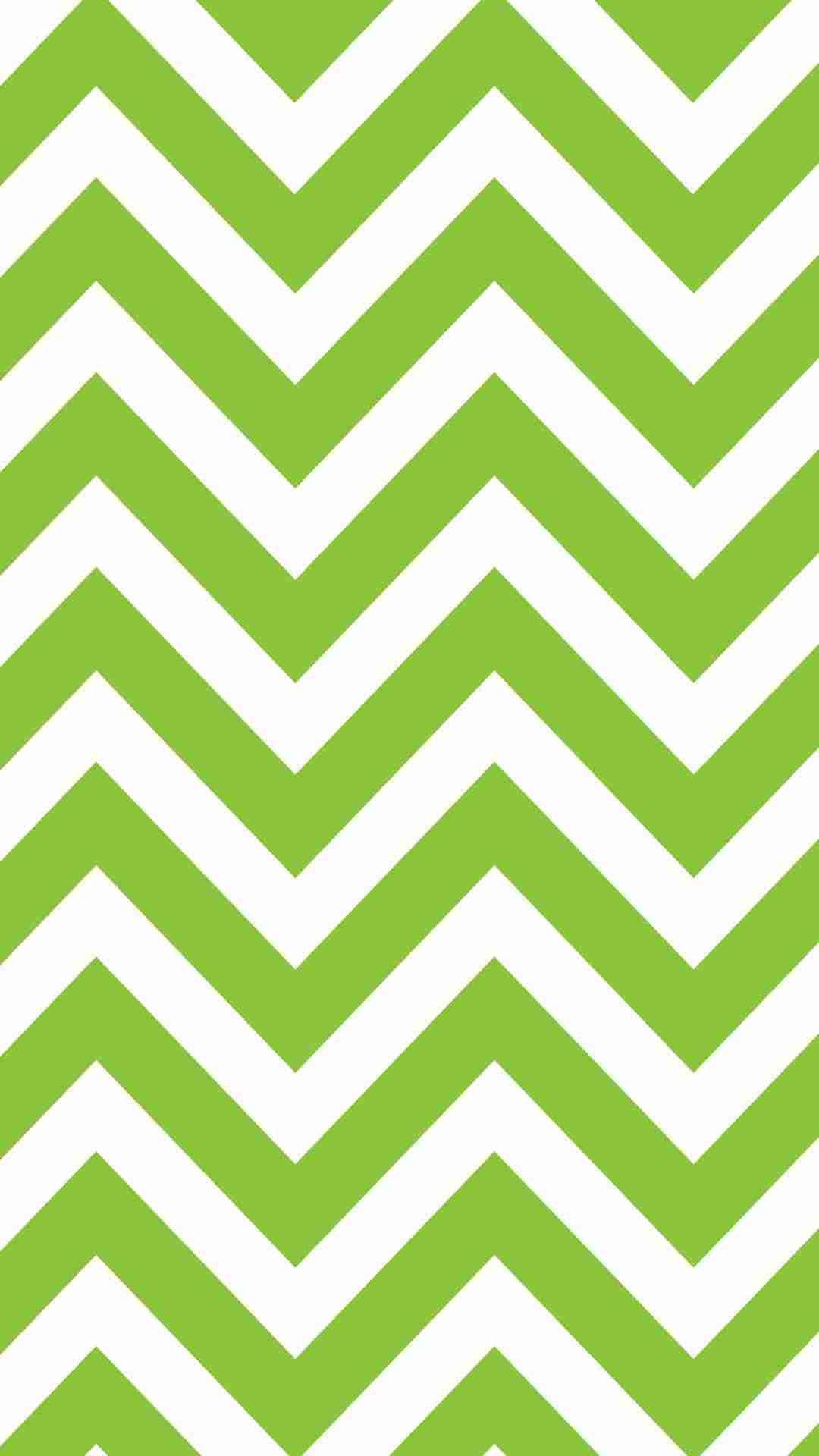 Res: 1080x1920, Light Green Chevron iPhone 6 Plus Wallpaper - White Zigzag Pattern, Ze Print