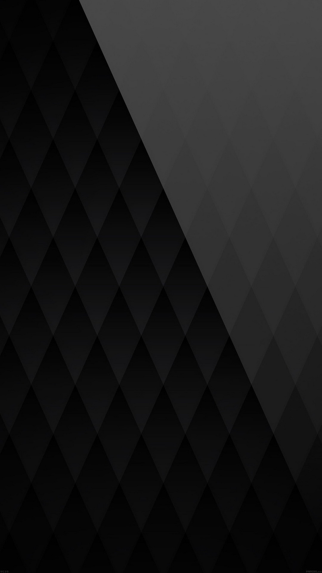 Res: 1080x1920, Black Diamond Pattern Angle Android Wallpaper ...