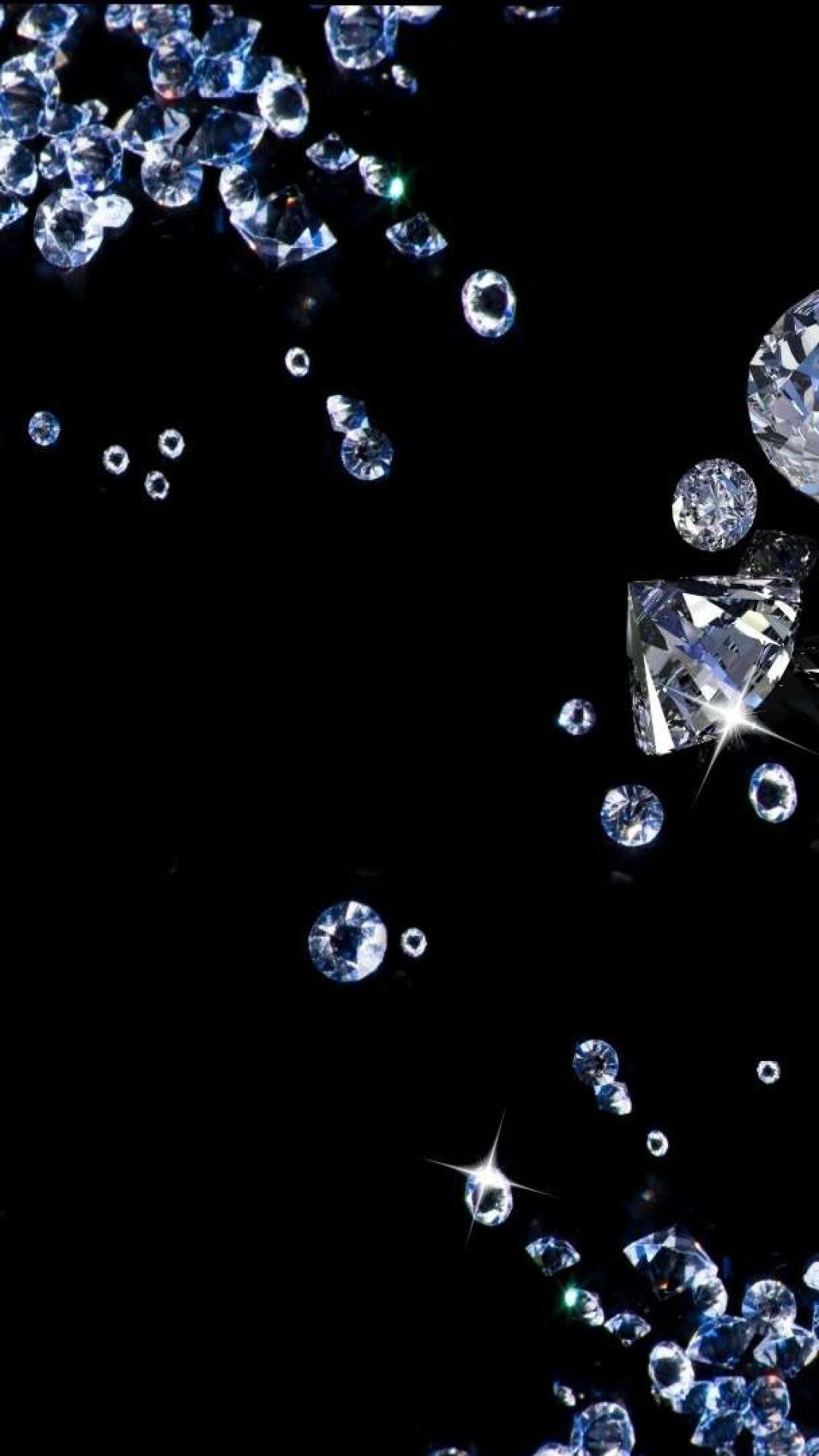 Res: 1080x1920, Black Diamond Desktop Wallpaper Hd Diamonds 1080p Of Mobile High Quality