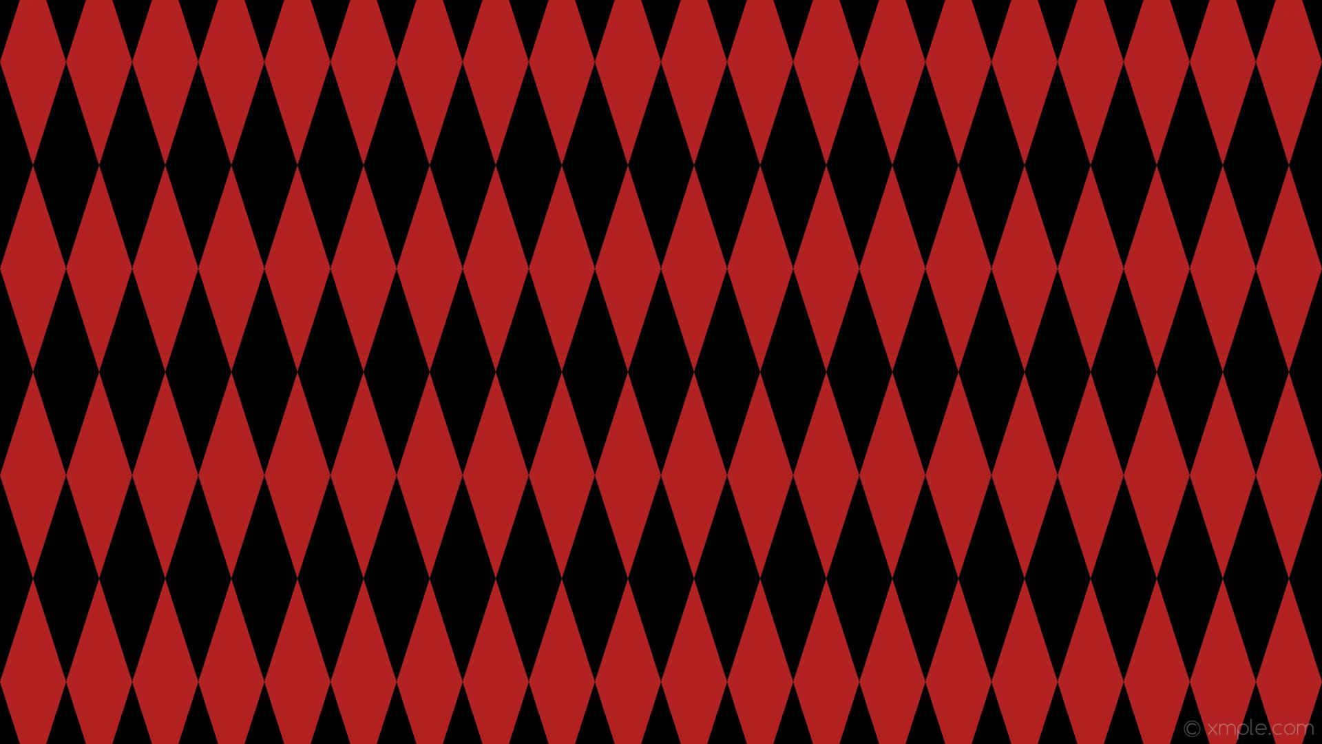 Res: 1920x1080, wallpaper red lozenge black diamond rhombus fire brick #000000 #b22222 90°  300px 96px