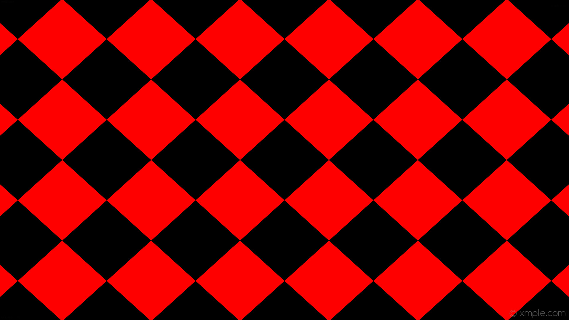 Res: 1920x1080, wallpaper rhombus black red diamond lozenge #000000 #ff0000 0° 300px 272px