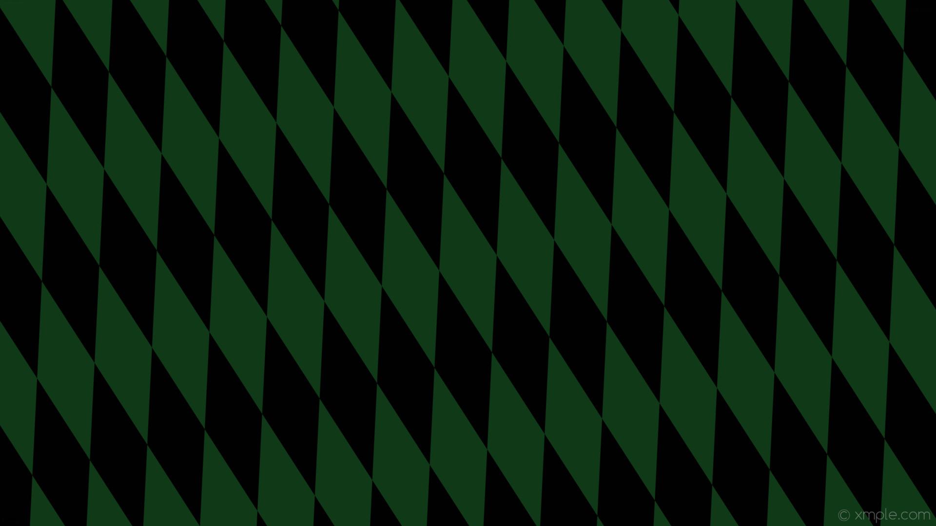 Res: 1920x1080, wallpaper green black diamond lozenge rhombus dark green #103917 #010101  105° 380px 122px
