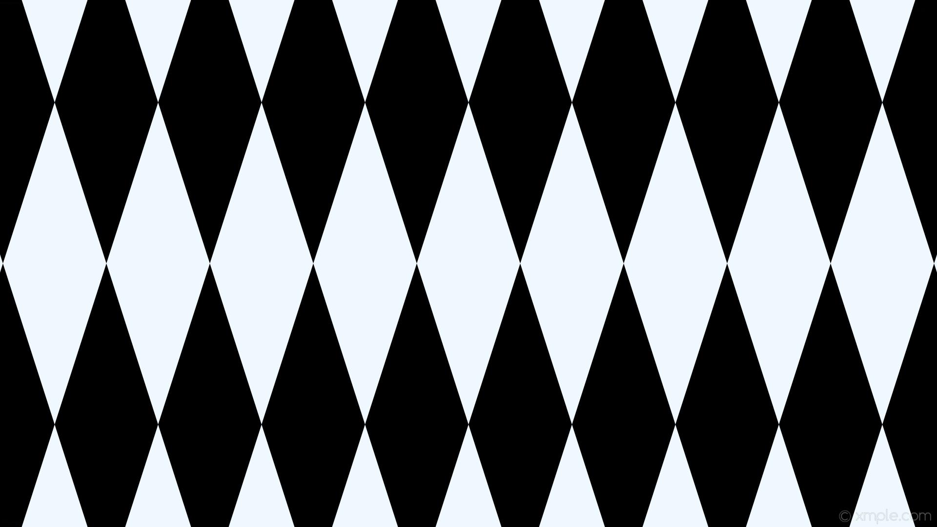 Res: 1920x1080, wallpaper black diamond white lozenge rhombus alice blue #f0f8ff #000000  90° 660px 212px