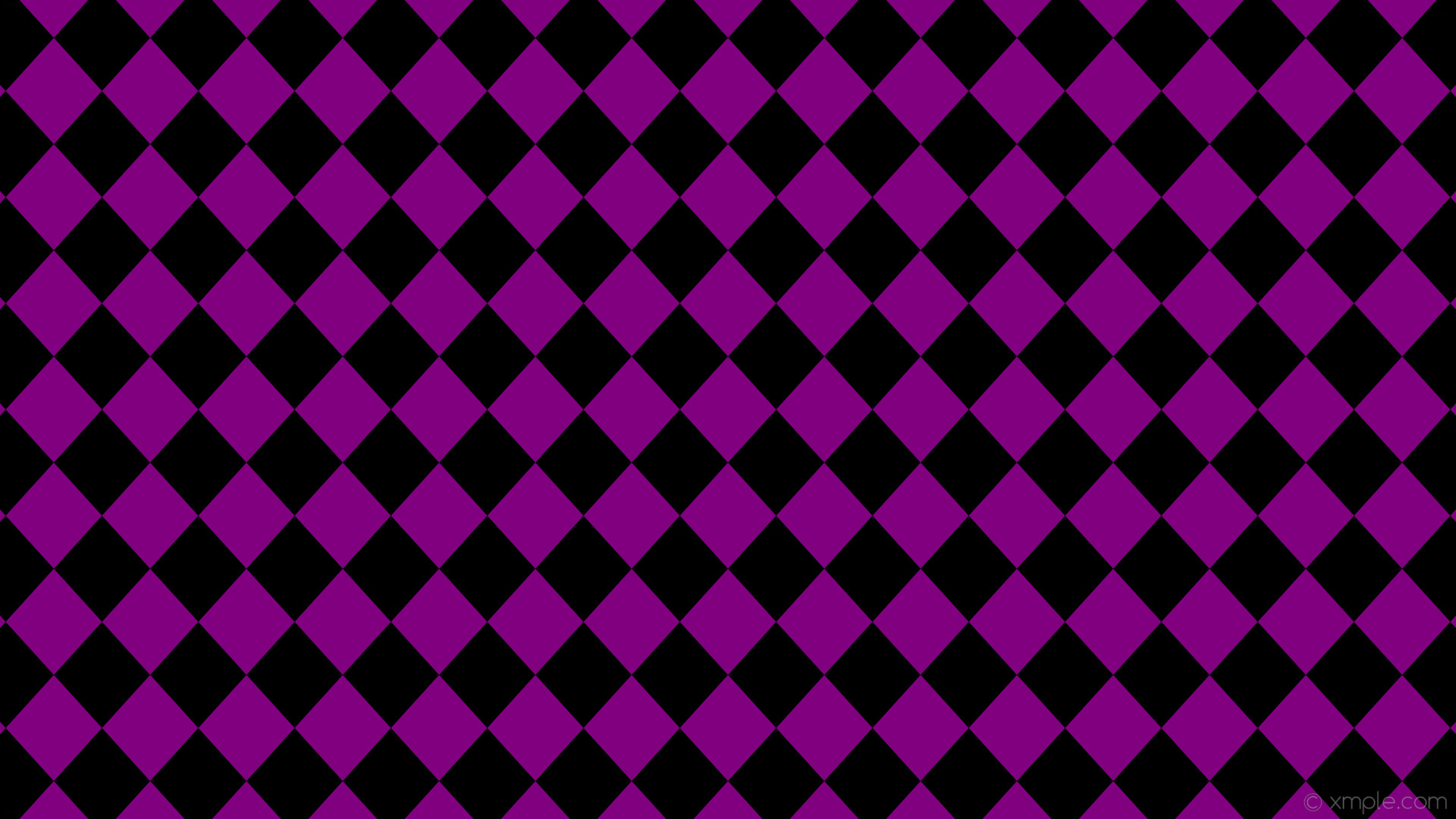 Res: 1920x1080, Wallpaper rhombus purple black diamond lozenge #800080 #000000 90° 140px  127px