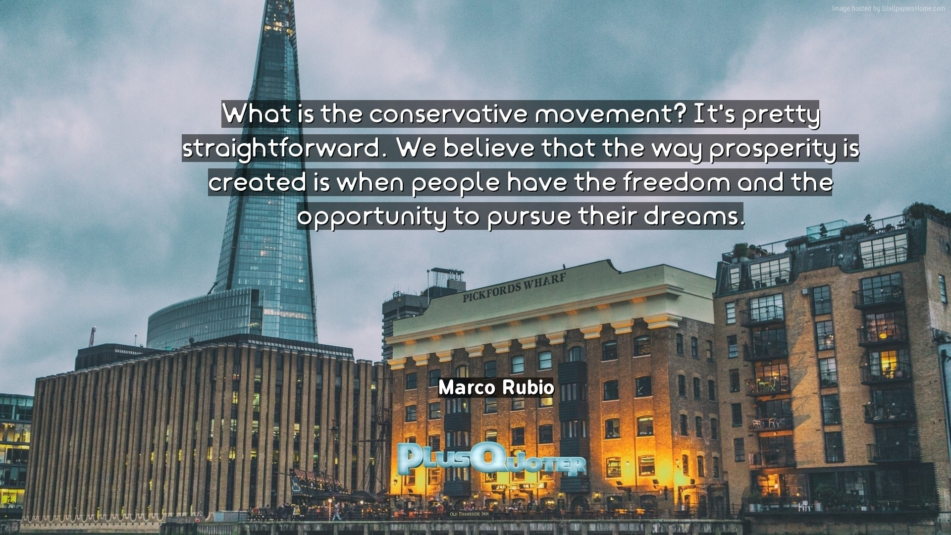 """Res: 1920x1080, Download Wallpaper with inspirational Quotes- """"What is the conservative  movement? It"""