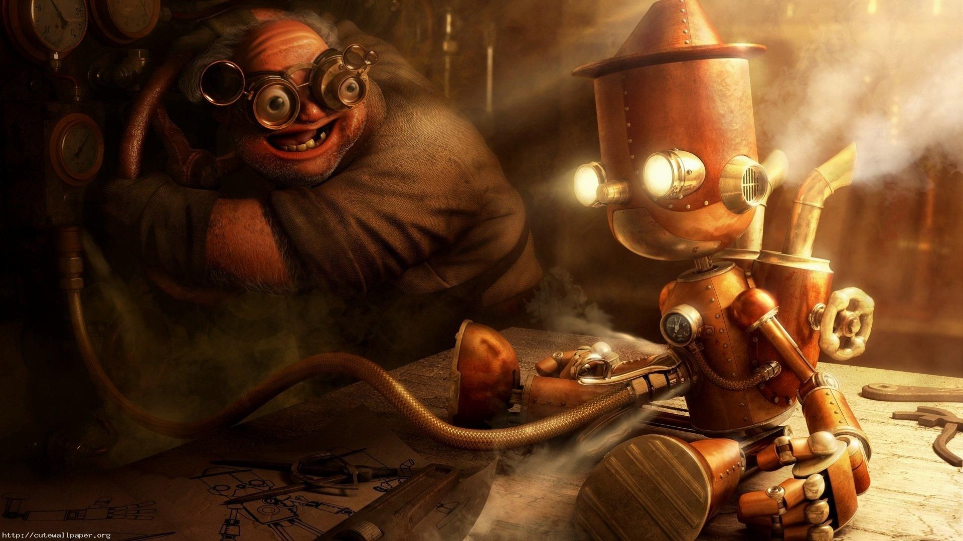 Res: 1920x1080, Steampunk Wallpaper 1920×1200 Steampunk Wallpaper (42 Wallpapers) |  Adorable Wallpapers
