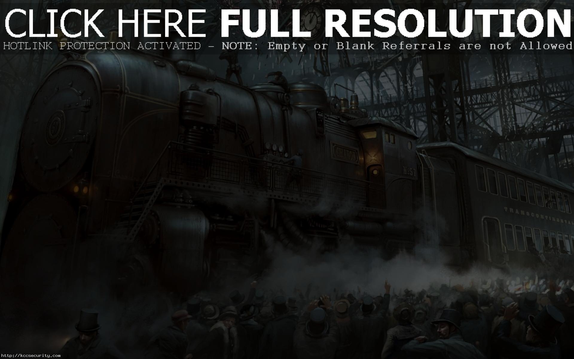 Res: 1920x1200, Steampunk Wallpaper 5000