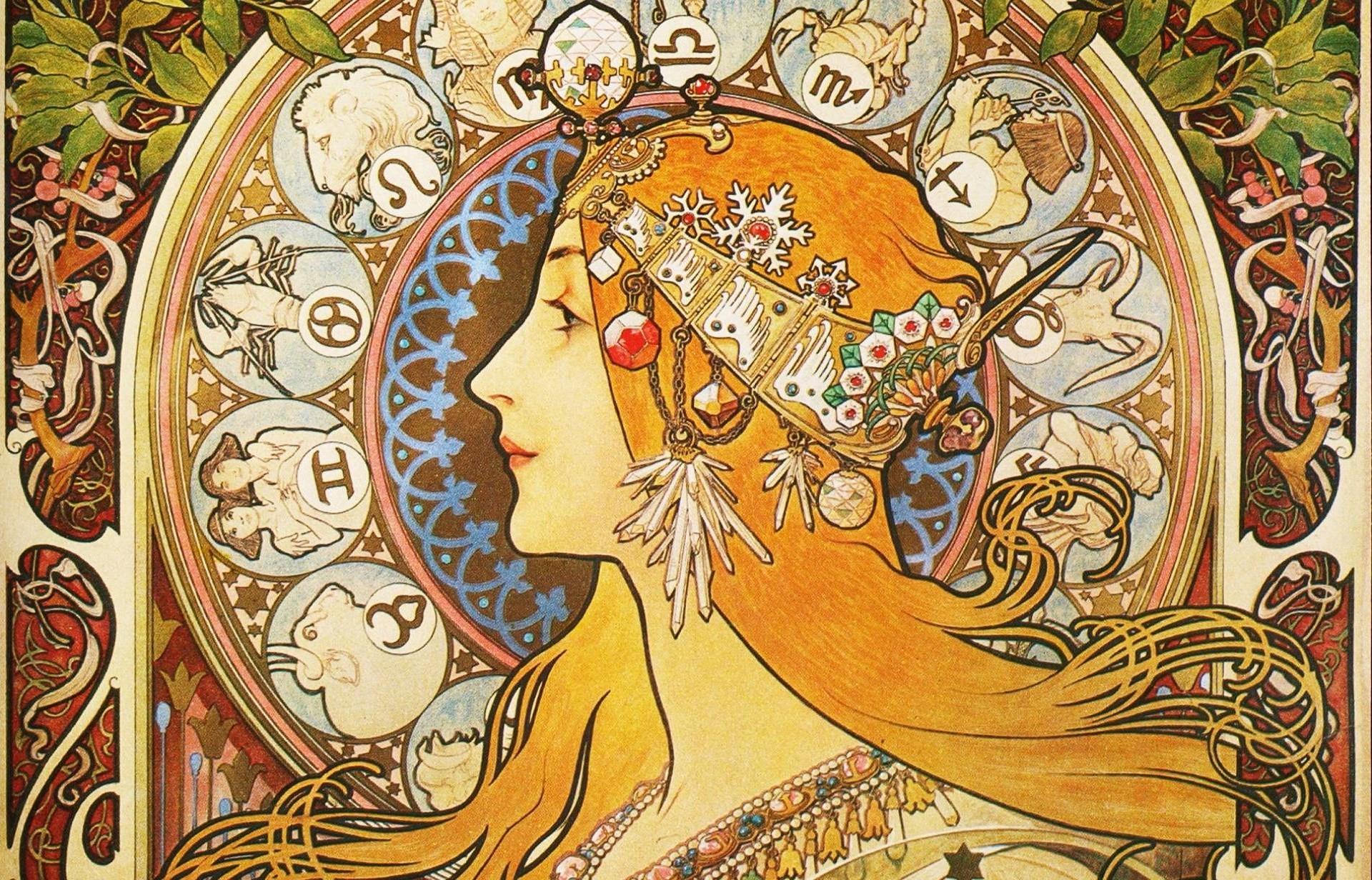 Res: 1920x1232, Art Nouveau Wallpaper Photo For Desktop Wallpaper 1920 x 1232 px 710.77 KB  floral steampunk victorian