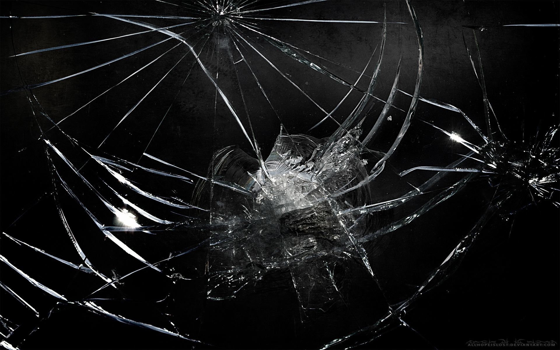 Res: 1920x1200, 45 Realistic Cracked and Broken Screen Wallpapers - Technosamrat