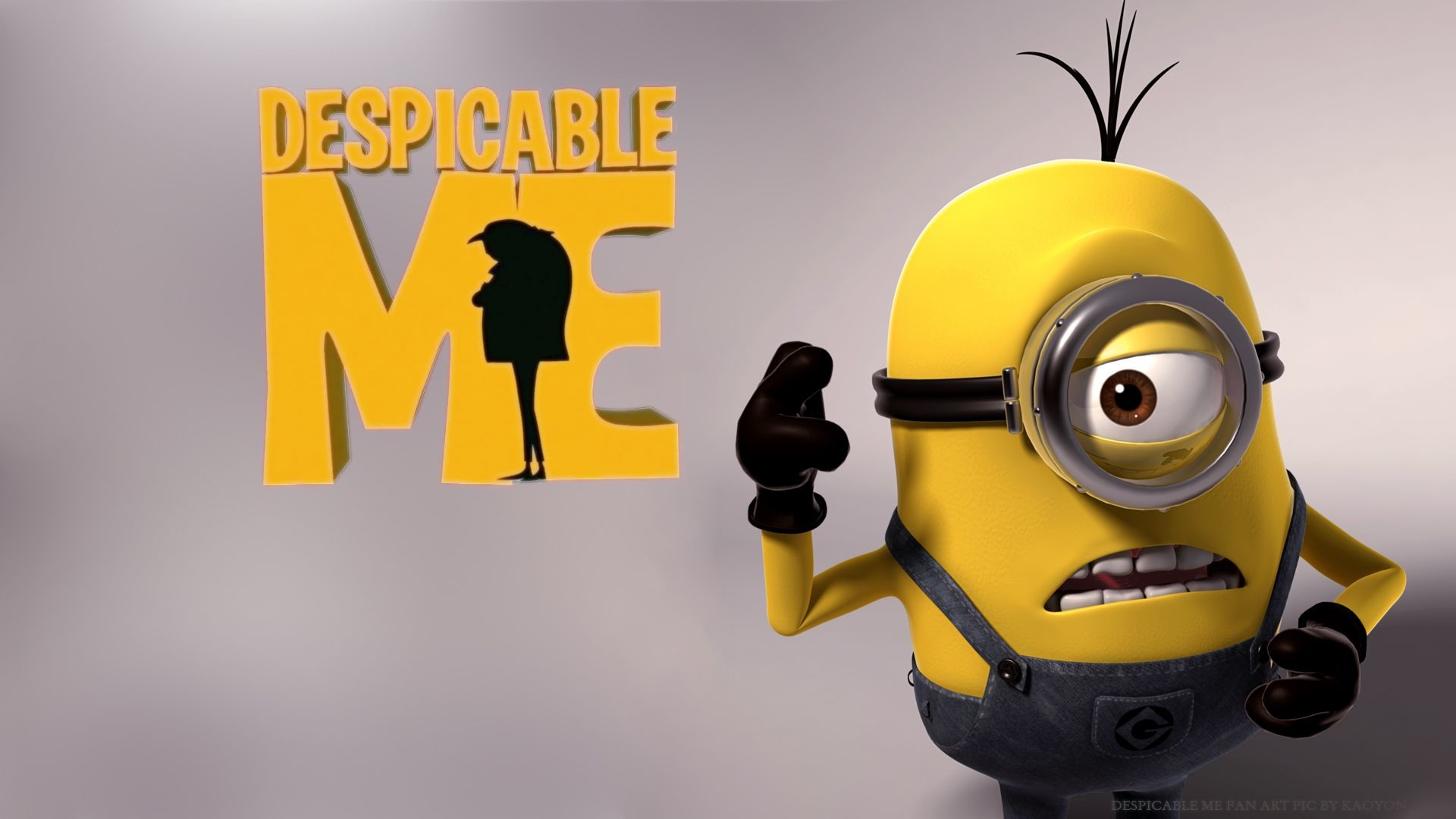 Res: 1920x1080, Despicable Me HD Wallpapers Backgrounds Wallpaper