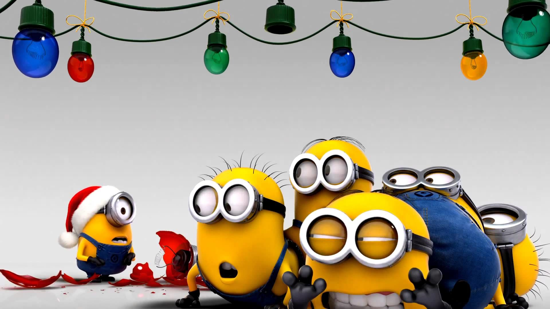 Res: 1920x1080, Minions-Despicable-Me-Christmas-wallpaper-wp4407445