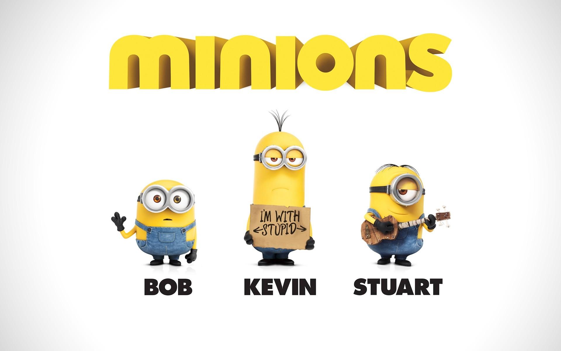 Res: 1920x1200, Minions Bob Kevin Stuart Desktop Wallpaper