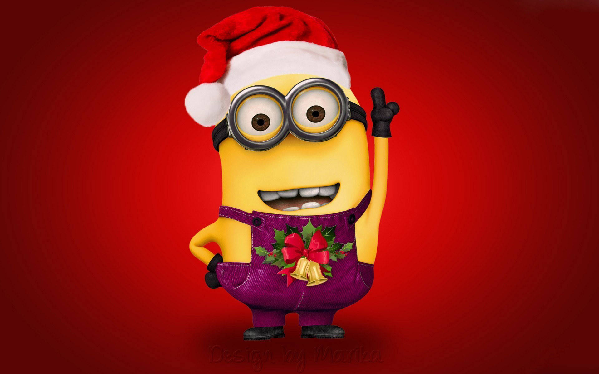 Res: 1920x1200, Live Minion Christmas Photo