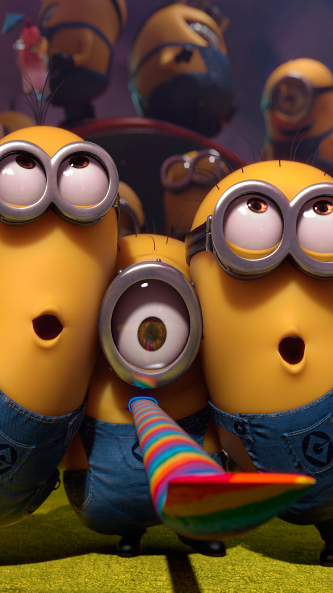 Res: 1080x1920, Wallpaper Weekends: Minions!