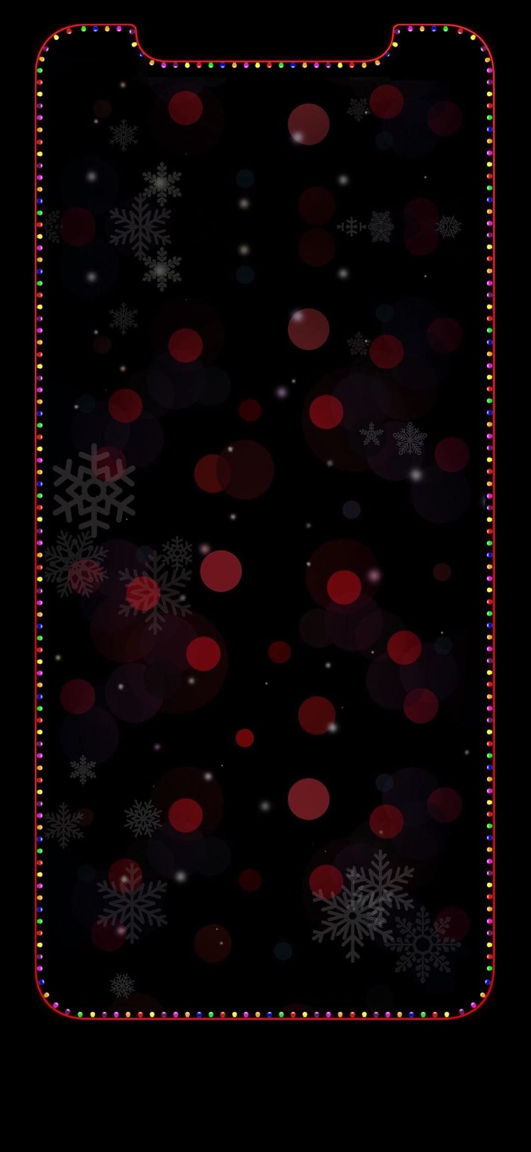 Res: 1080x2340, iPhone X Christmas wallpaper