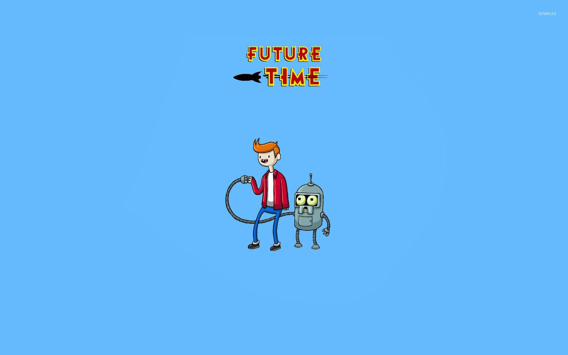 Res: 1920x1200, Future Time wallpaper
