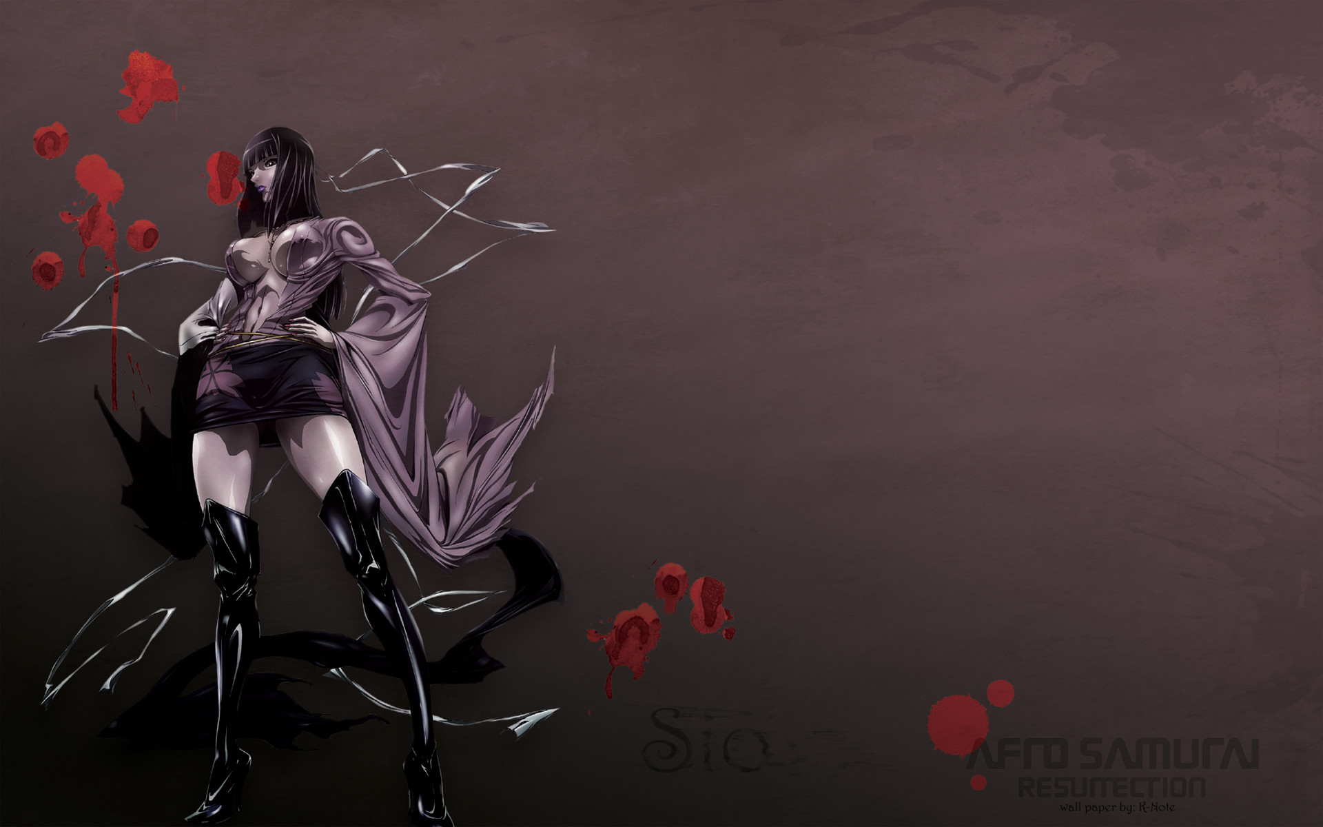 Res: 1920x1200, High Quality Background of Afro Samurai Resurrection »  px