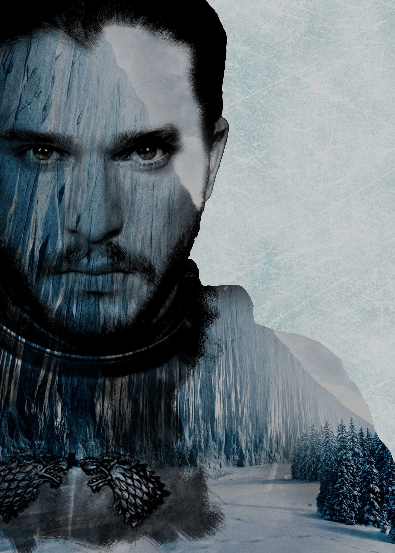 Res: 1500x2100, Everything[EVERYTHING] Jon Snow Wallpaper, for the wait for season 8 is  long and full of terrors ...