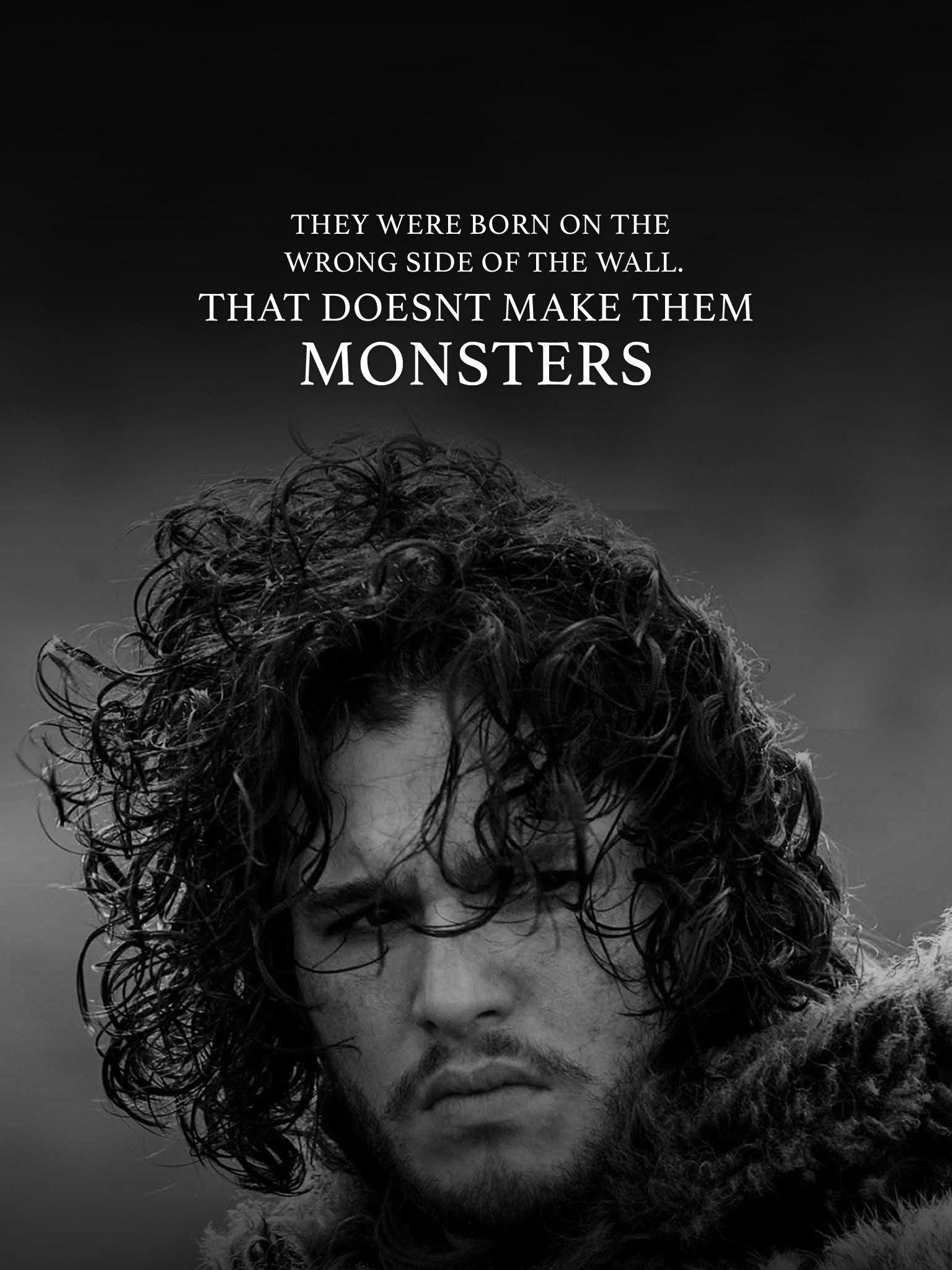 Res: 1536x2048, Jon Snow Wallpaper Quote – MovoWall