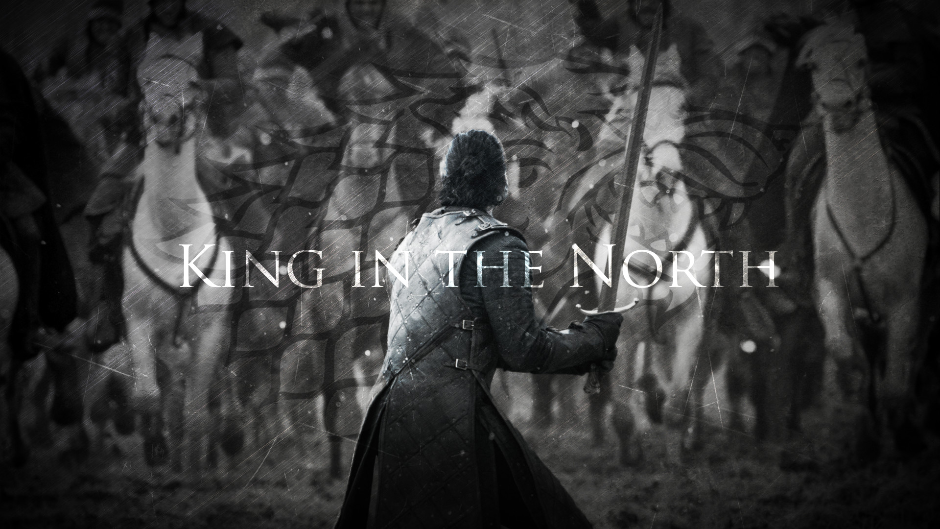 Res: 1920x1080, ... King in the North | Jon Snow | Game of Thrones by TaigaLife